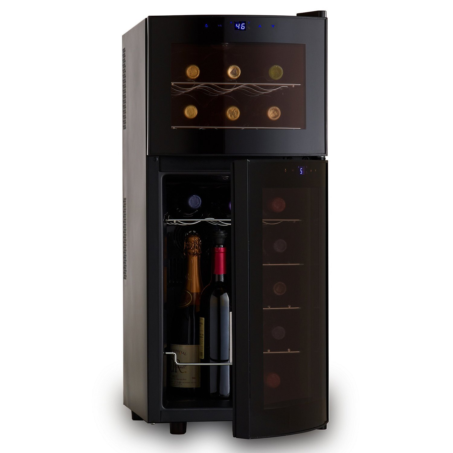 Wine Enthusiast Companies 21 Bottle Dual Zone Wine