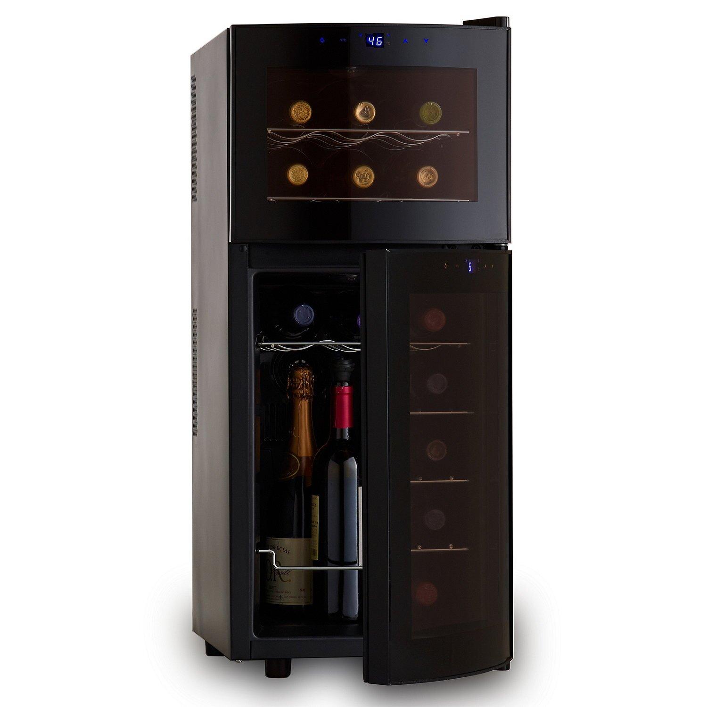 Wine Enthusiast Companies Silent Series 21 Bottle Dual