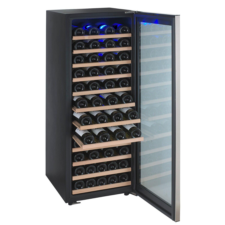 Wine Enthusiast Companies Evolution 80 Bottle Single Zone