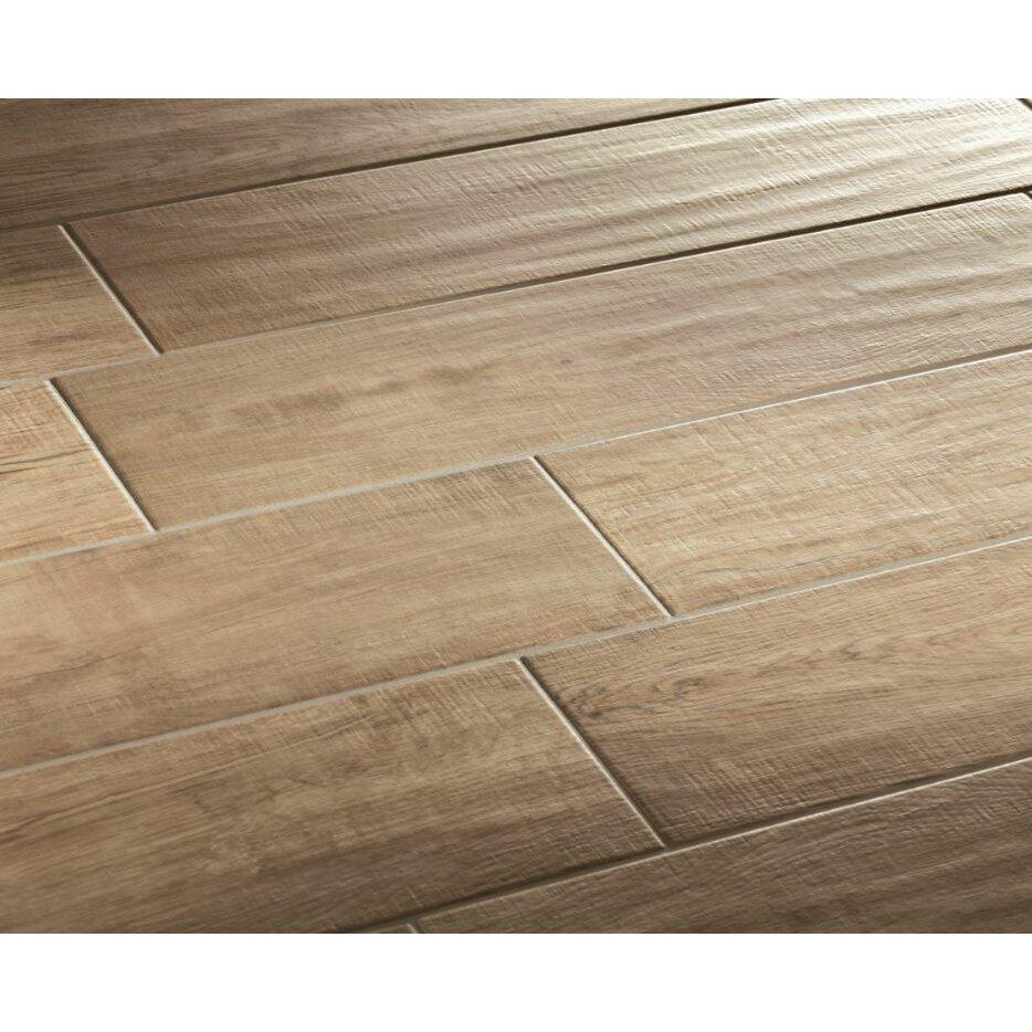 lea ceramiche vivaldi 6 x 24 porcelain wood tile in. Black Bedroom Furniture Sets. Home Design Ideas