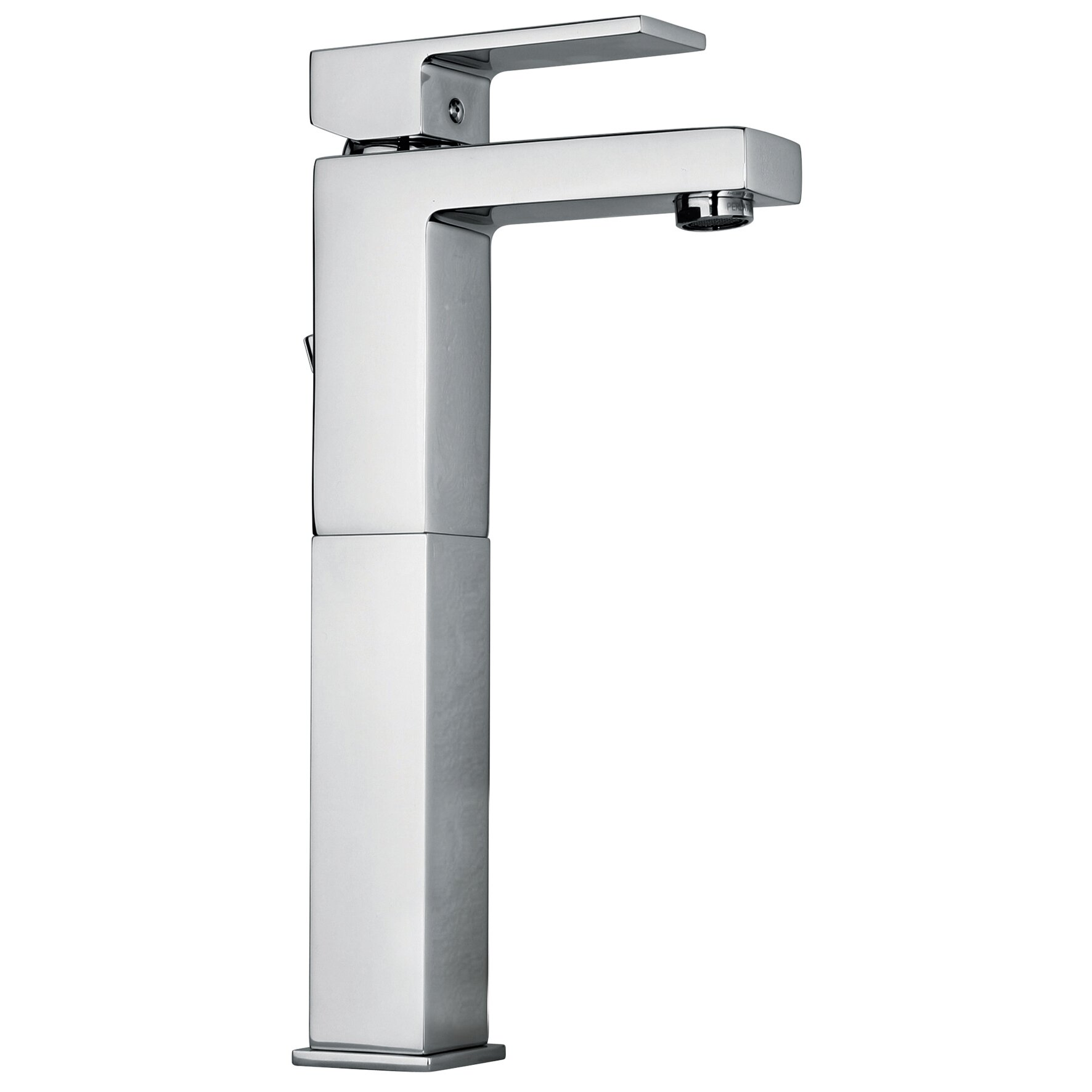 Jewel faucets j12 bath series single lever handle tall for Bathroom sink lever taps
