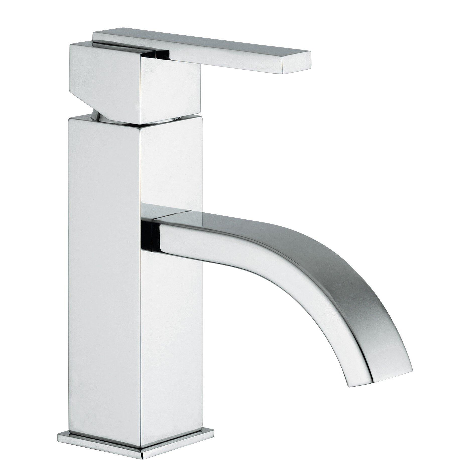 Jewel Faucets J15 Bath Series Single Lever Handle Bathroom Faucet with ...