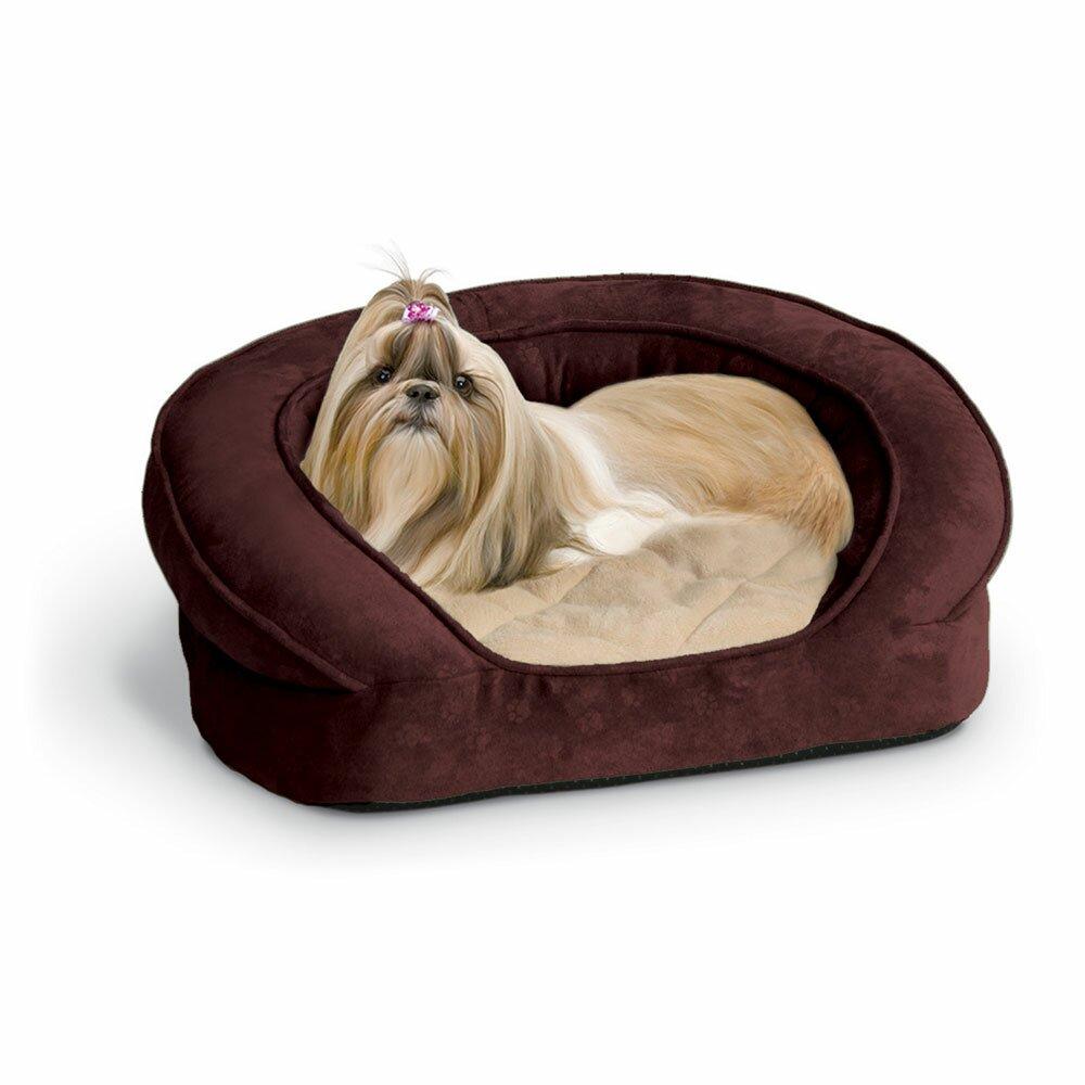 k h manufacturing deluxe ortho sleeper bolster dog bed reviews wayfair. Black Bedroom Furniture Sets. Home Design Ideas