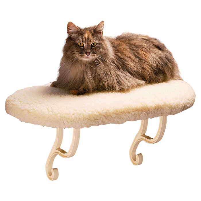K Amp H Manufacturing 4 Quot Kitty Sill Cat Perch Amp Reviews Wayfair