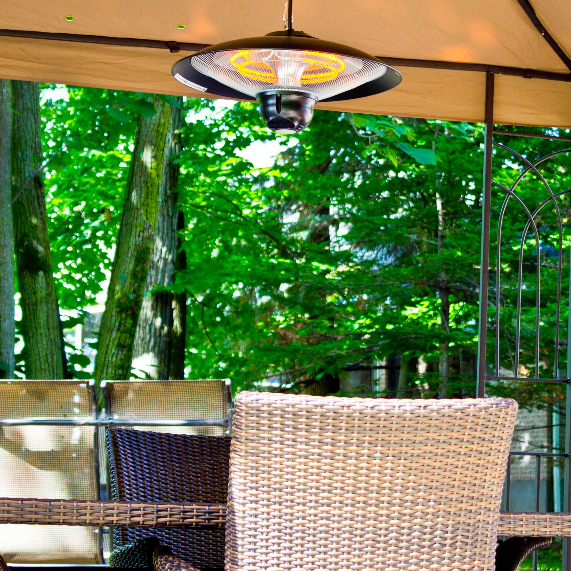 Energ Hanging Infrared Electric Patio Heater Amp Reviews