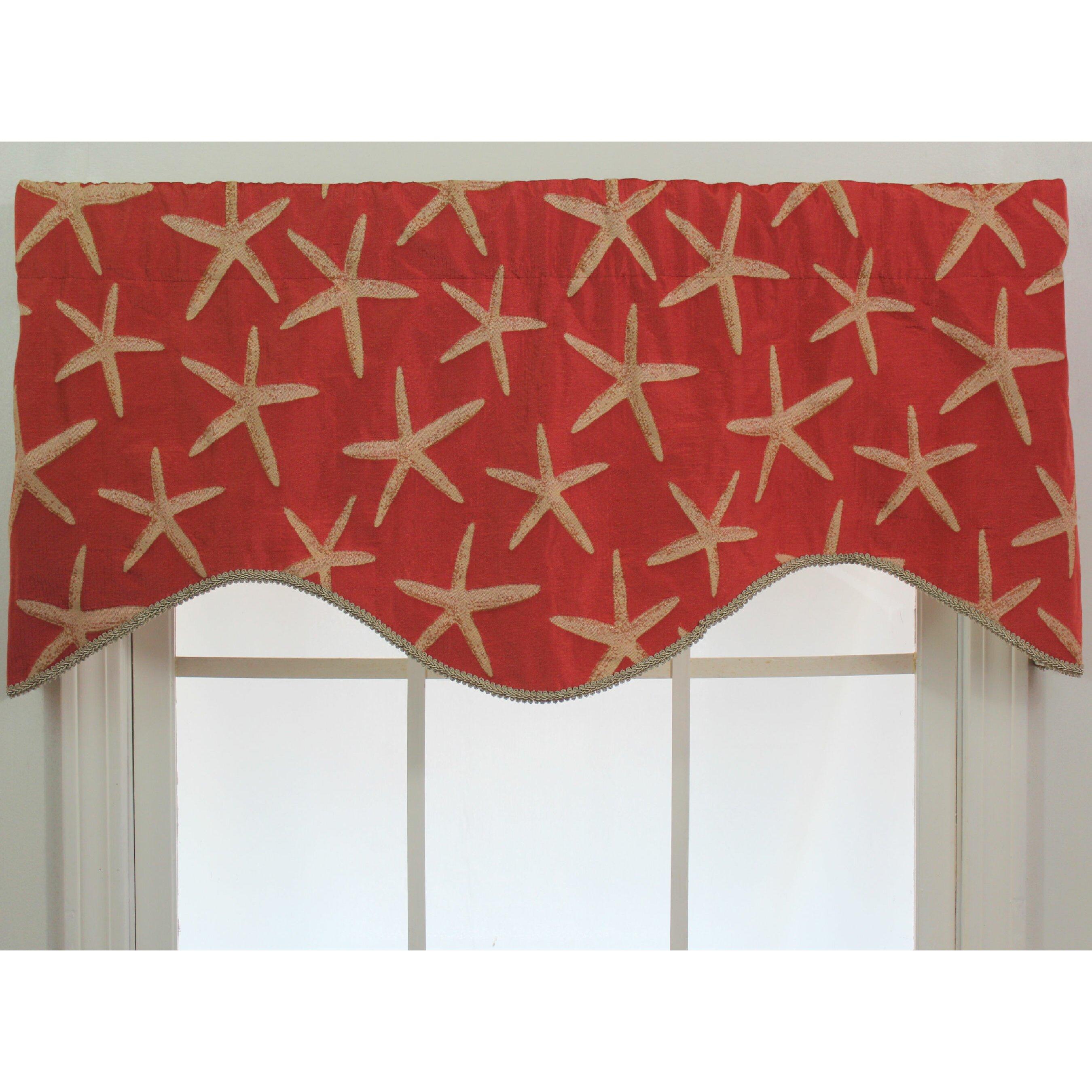 Rlf Home Estrella Cornice 50 Curtain Valance Reviews