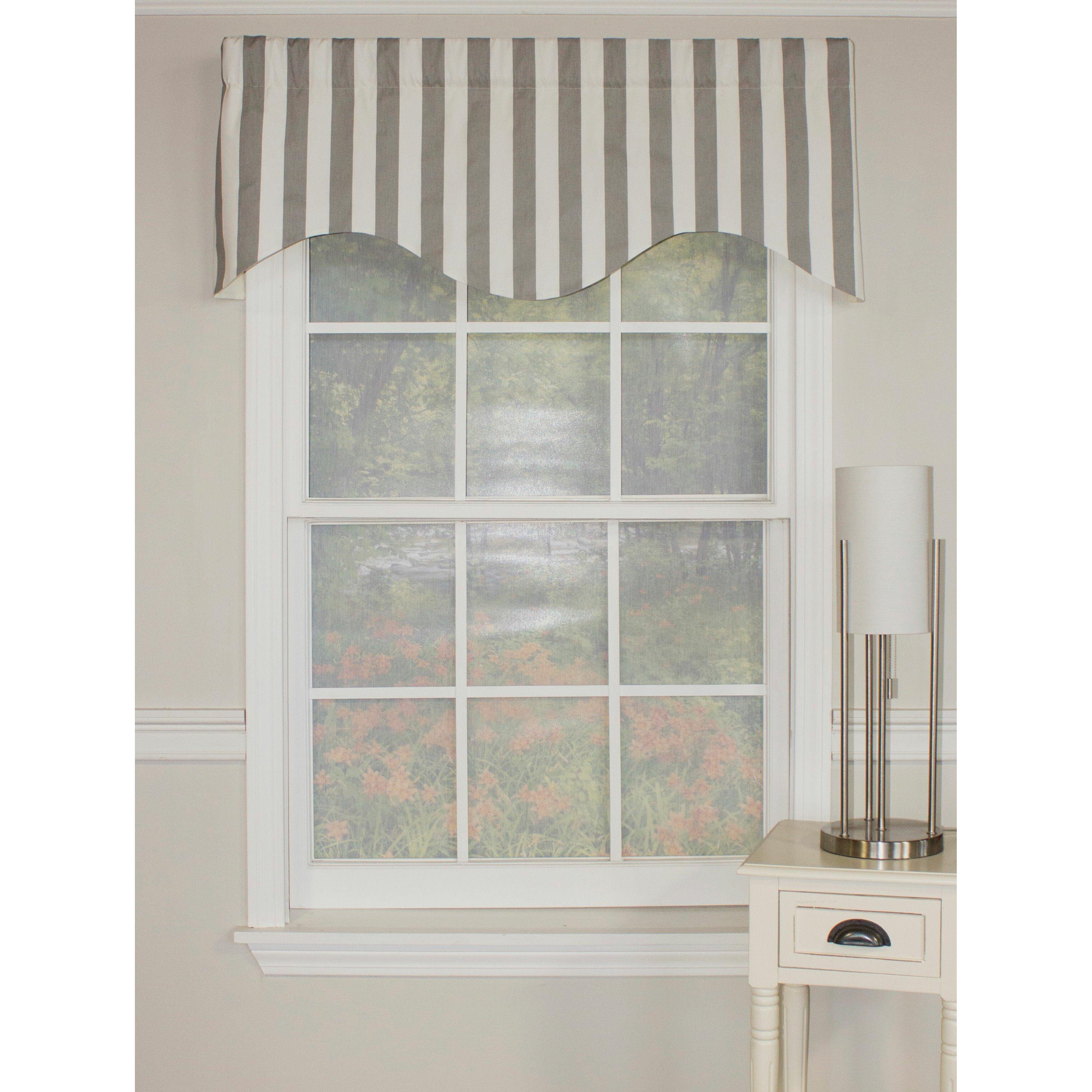 Rlf Home Awning Stripe Cornice 50 Curtain Valance