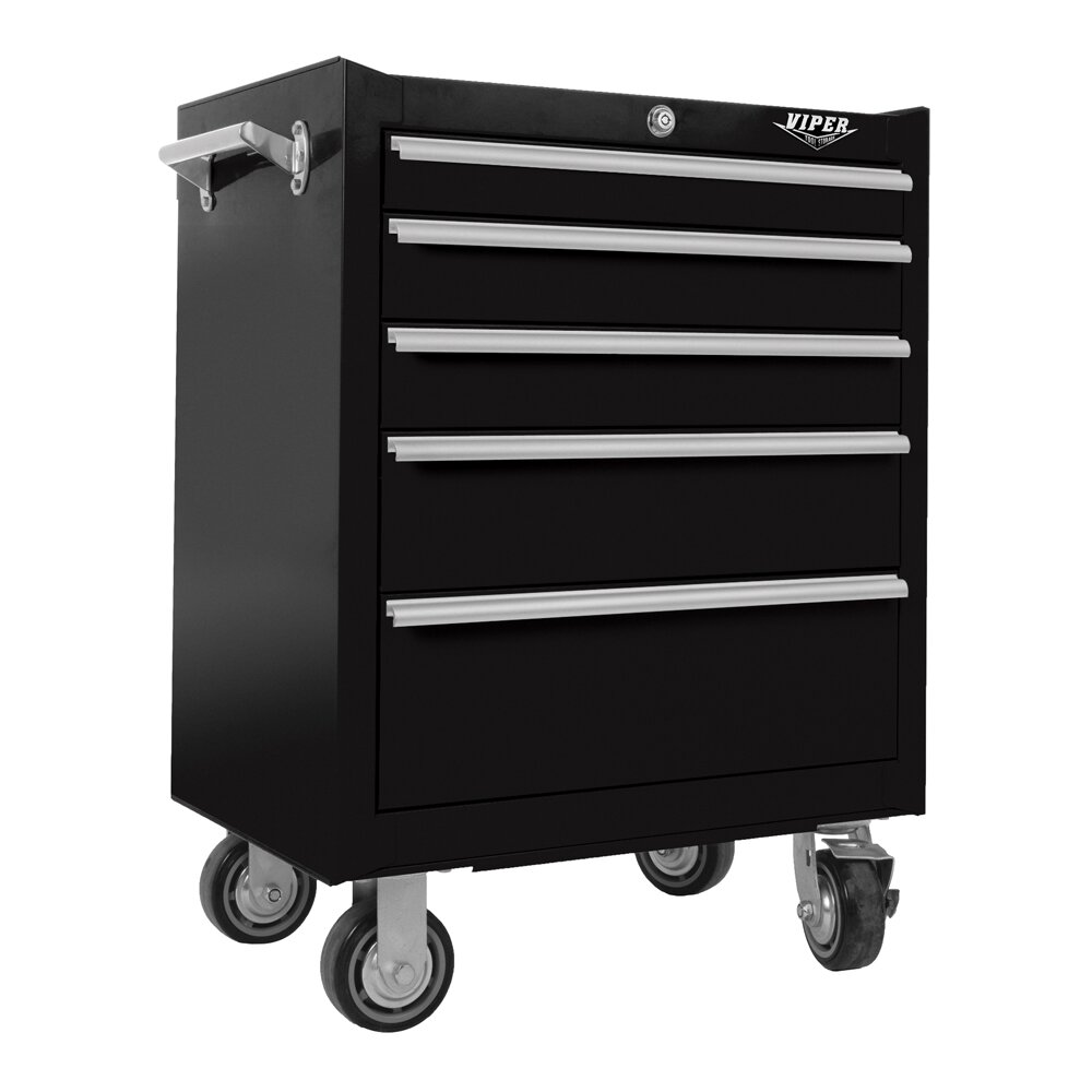 viper tool storage 26 w 5 drawer tool chest reviews wayfair. Black Bedroom Furniture Sets. Home Design Ideas
