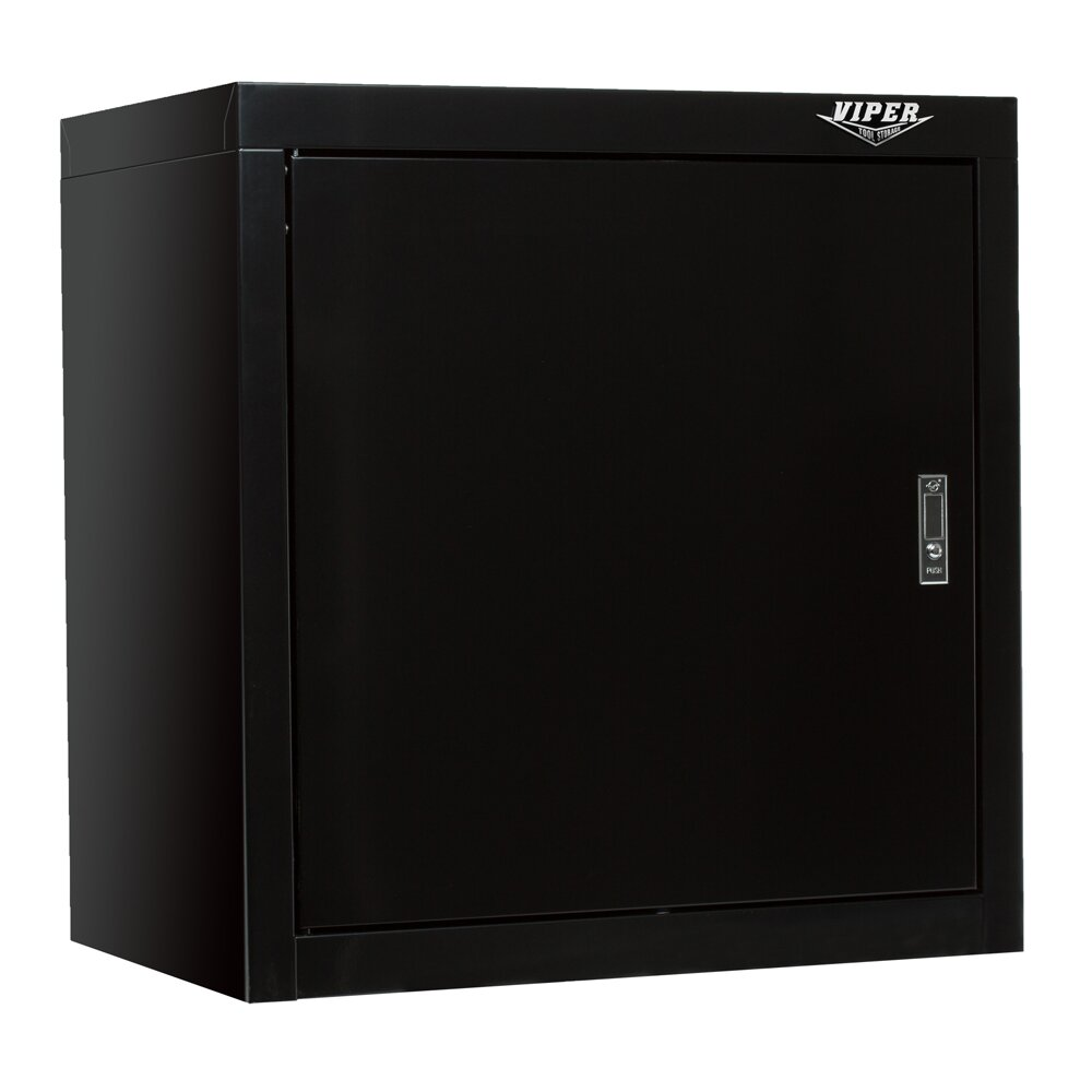 Viper tool storage 26 h x 26 w x d 1 door wall for 1 door storage cabinet