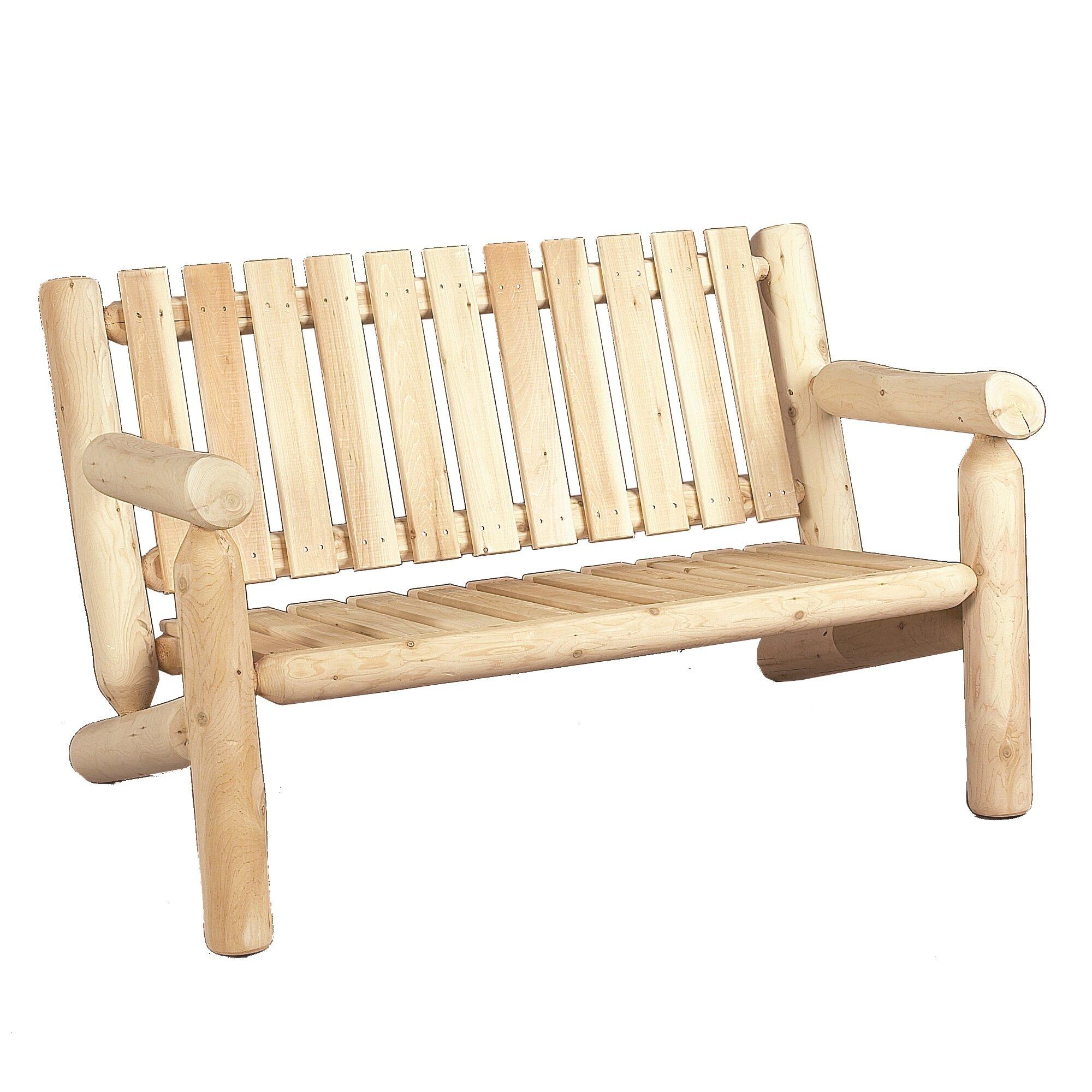 Rustic Cedar Outdoor Indoor Cedar Rocking Chair