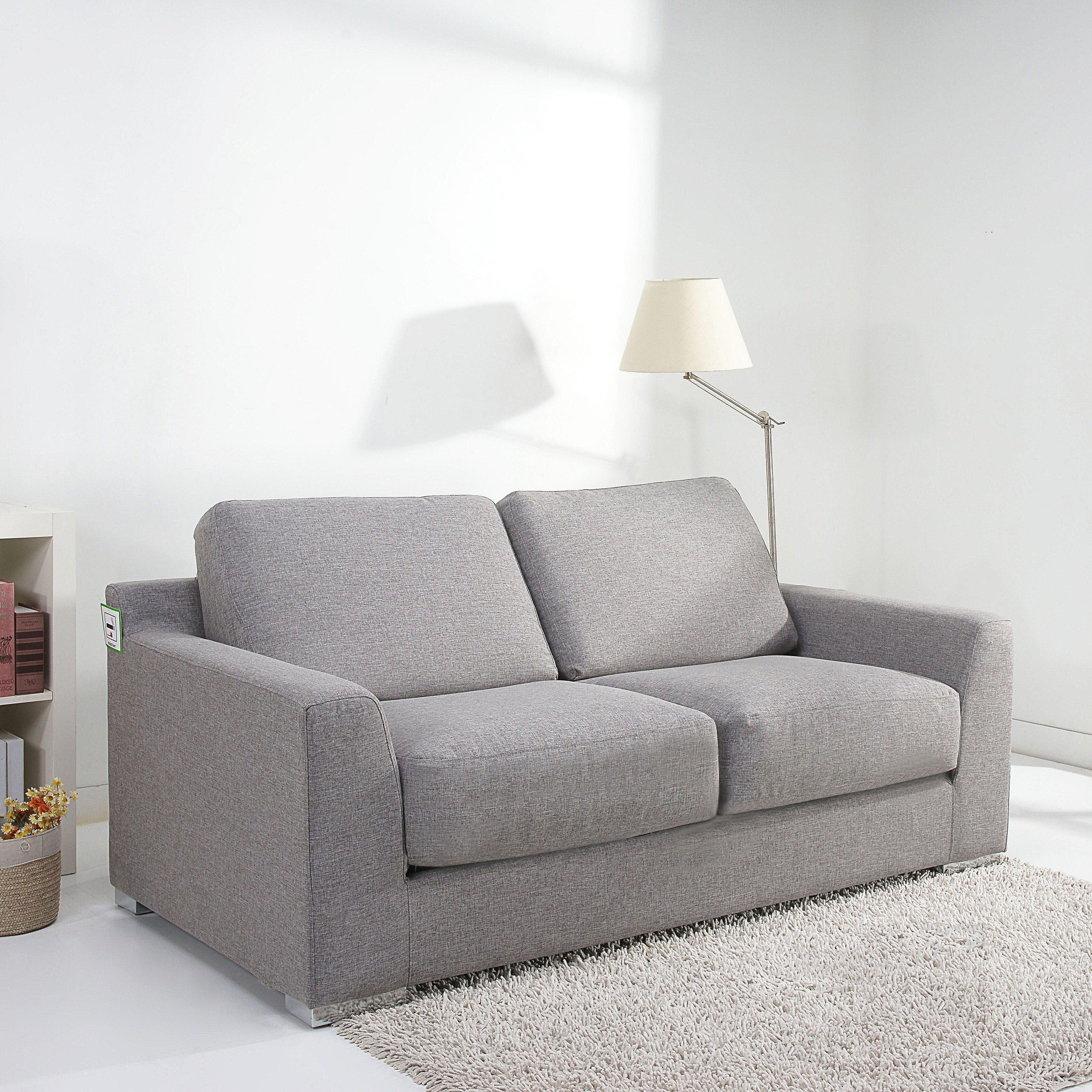leader lifestyle paris 2 seater fold out sofa bed reviews wayfair uk. Black Bedroom Furniture Sets. Home Design Ideas