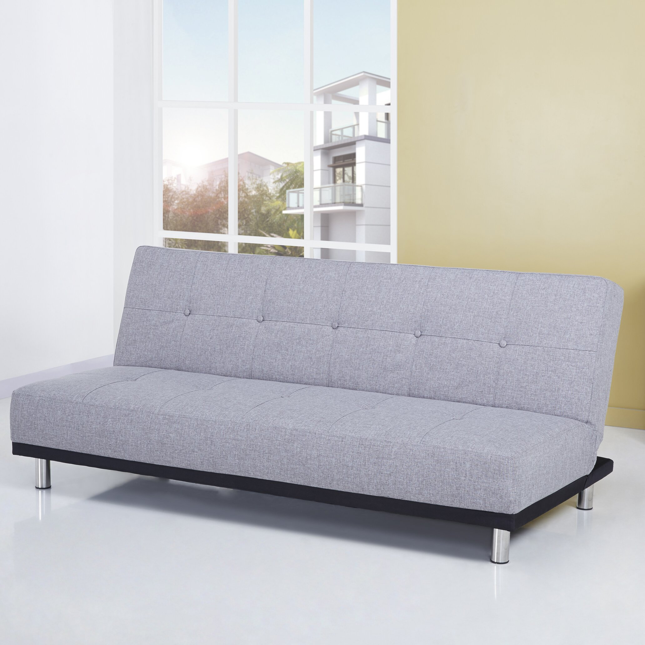 Leader Lifestyle Duke 3 Seater Clic Clac Sofa Reviews Wayfair UK