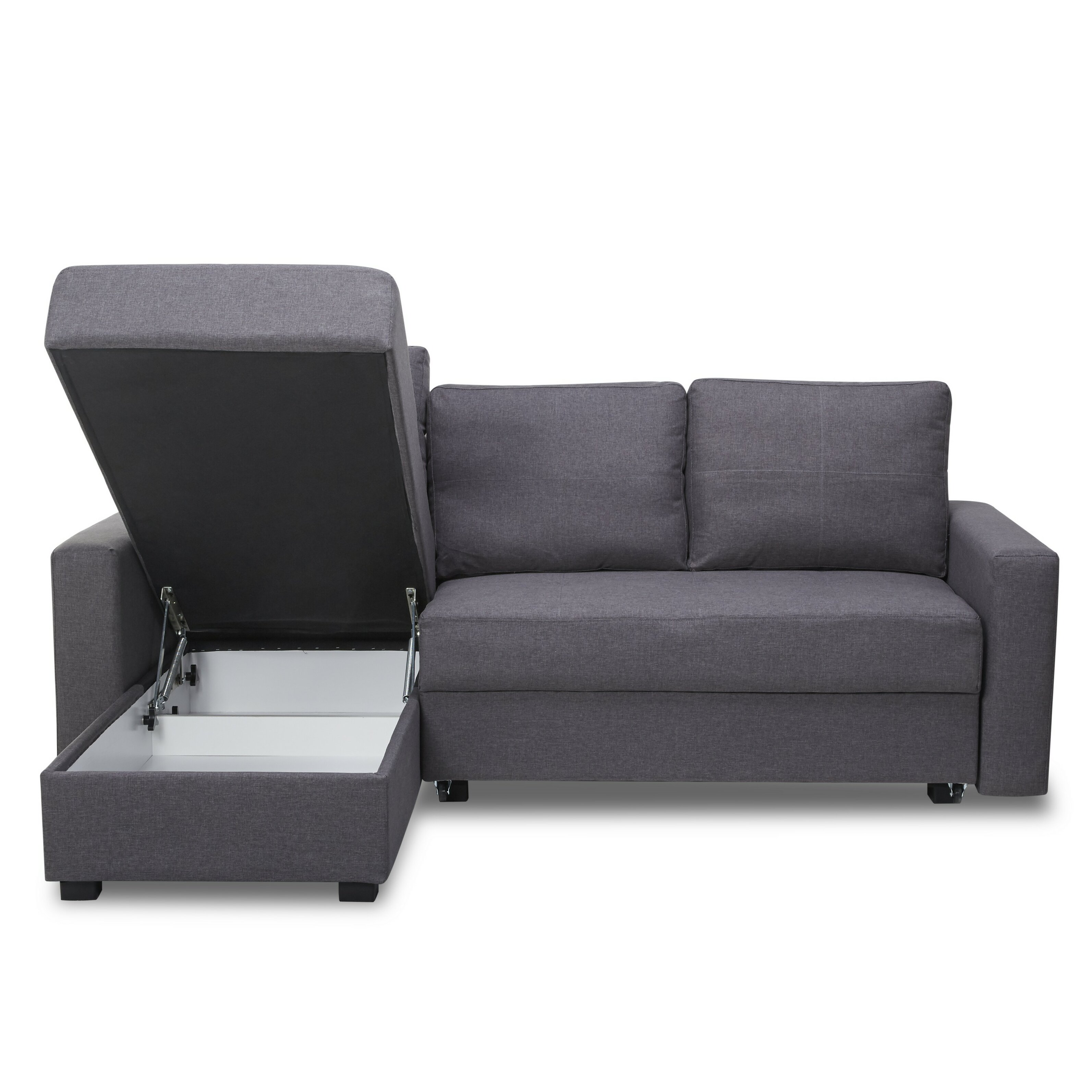 Madrid 3 Seater Sofa Bed With Storage Chaise