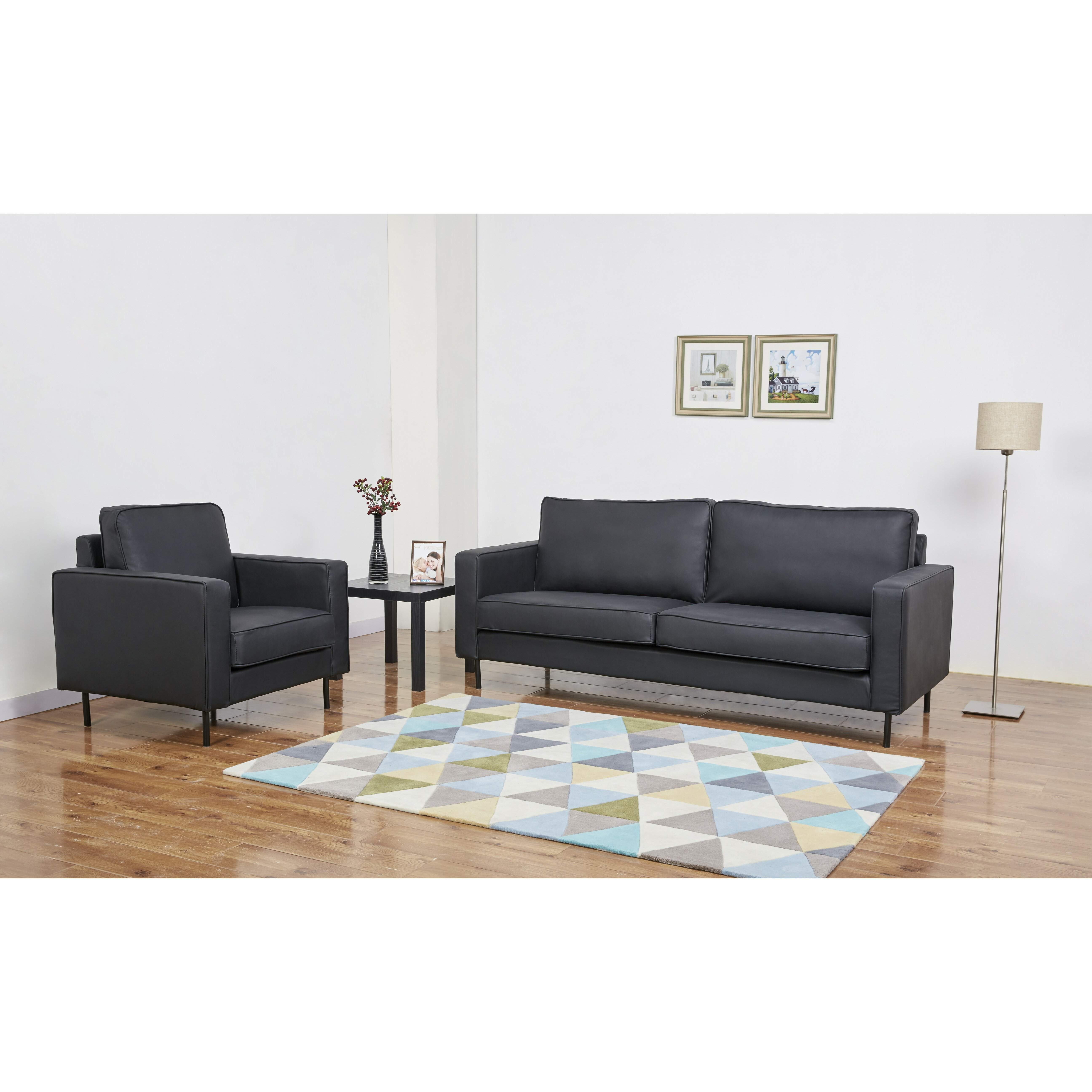 Leader Lifestyle Connor 2 Piece Living Room Set Wayfair UK