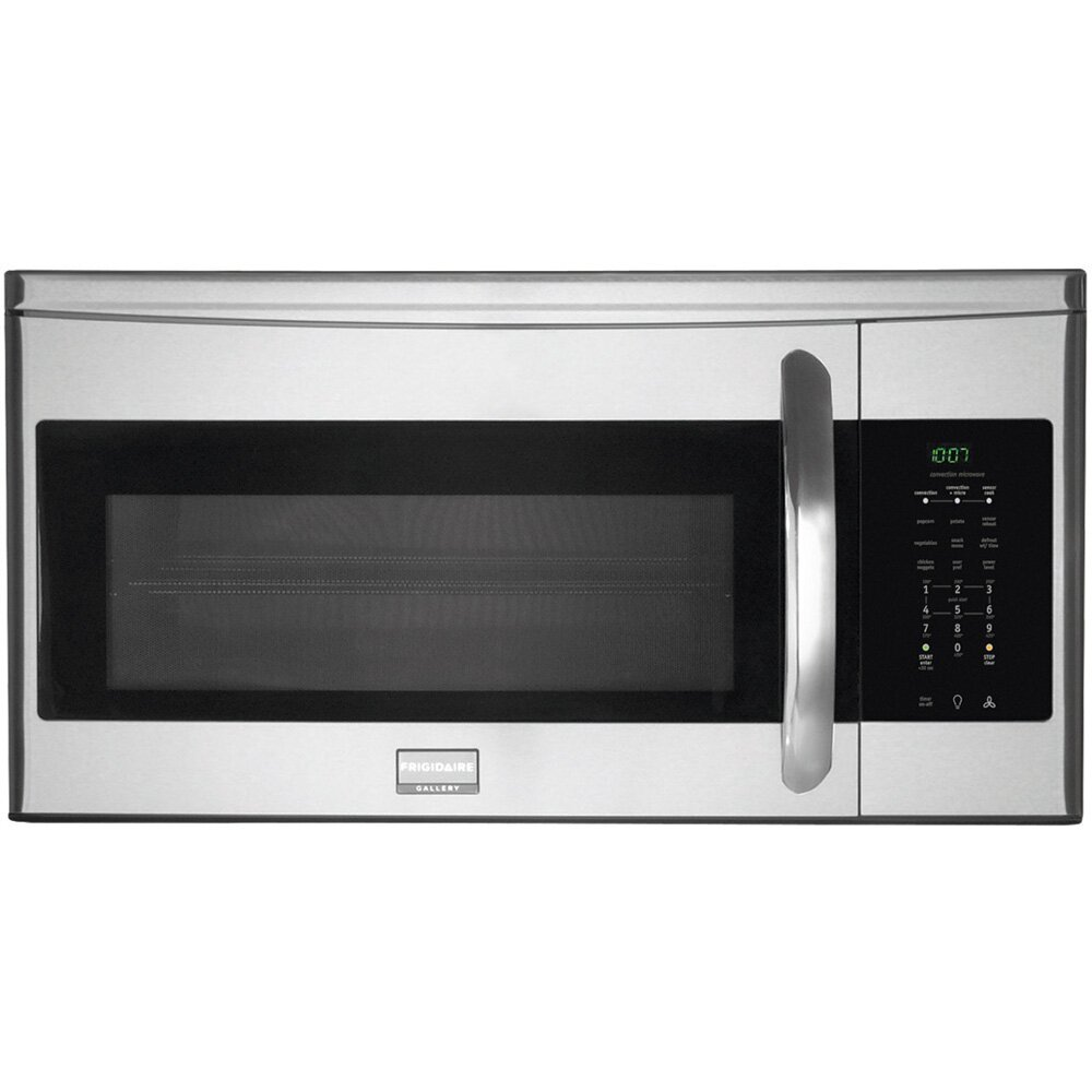 Frigidaire Gallery Series 1 5 Cu Ft 900w Over The Range