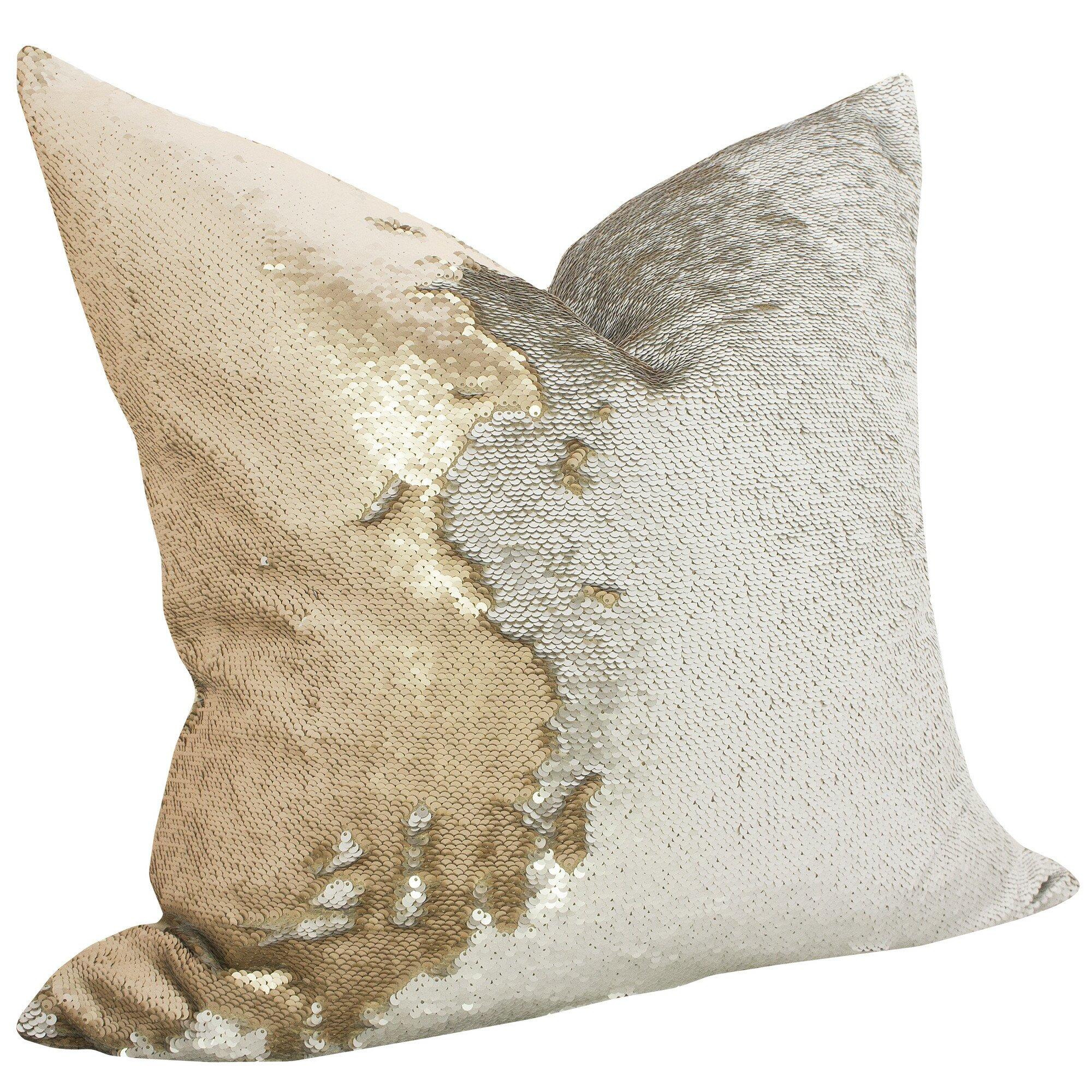Mermaid Decorative Pillows : TheWatsonShop Mermaid Sequin Throw Pillow & Reviews Wayfair