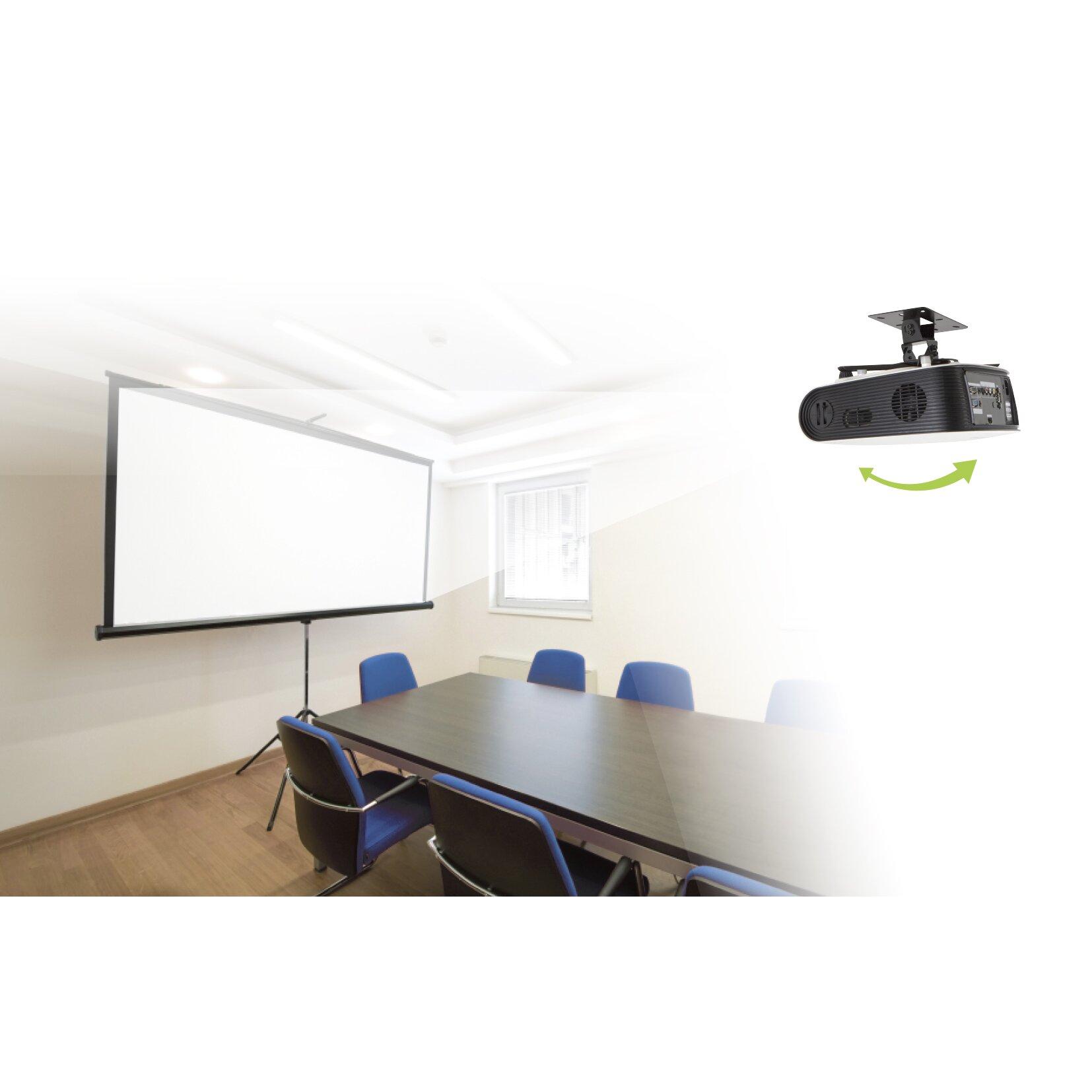 Avf Universal Projector For Ceiling And Wall Mount