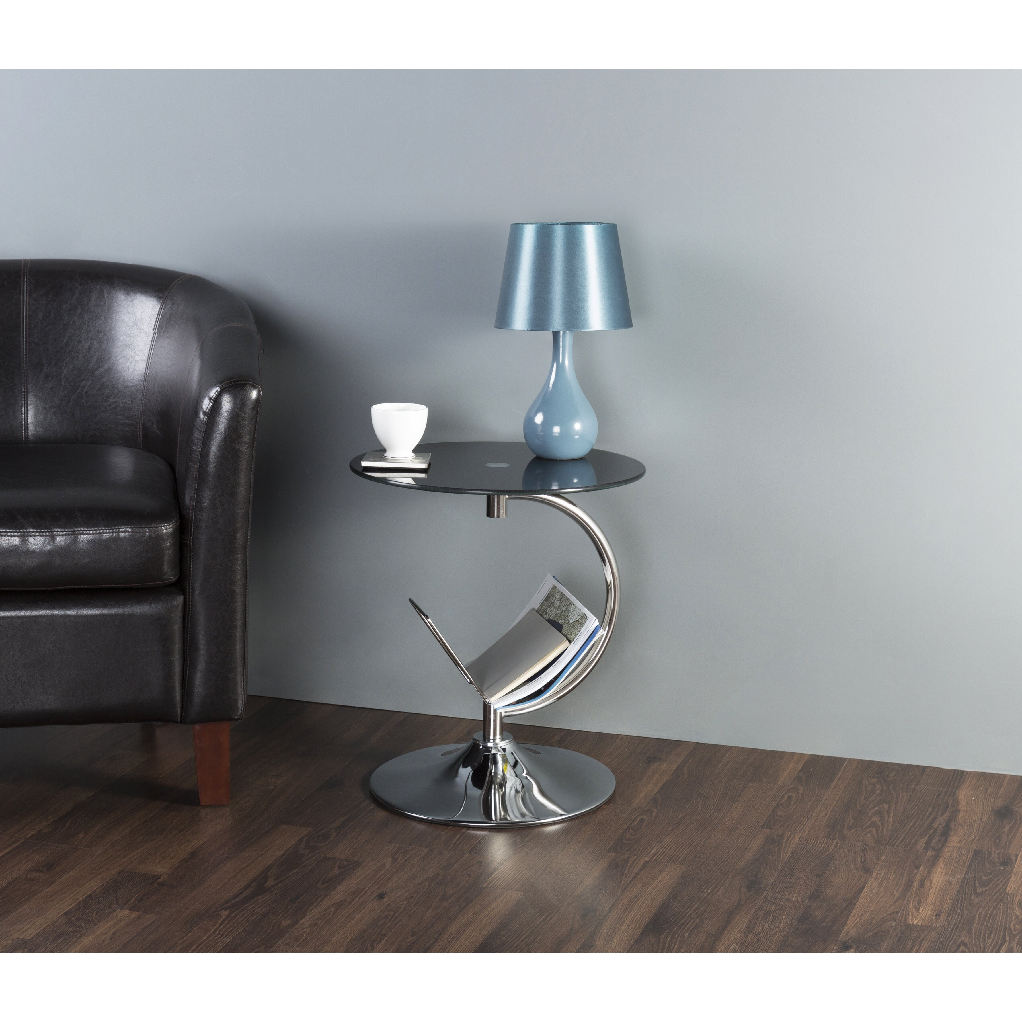 Avf end table with magazine rack reviews for Avf furniture
