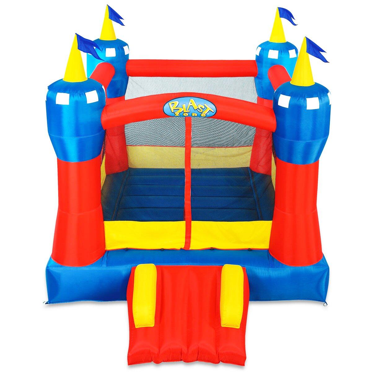 Blast zone magic castle bounce house reviews wayfair for Blast zone magic castle inflatable bounce house