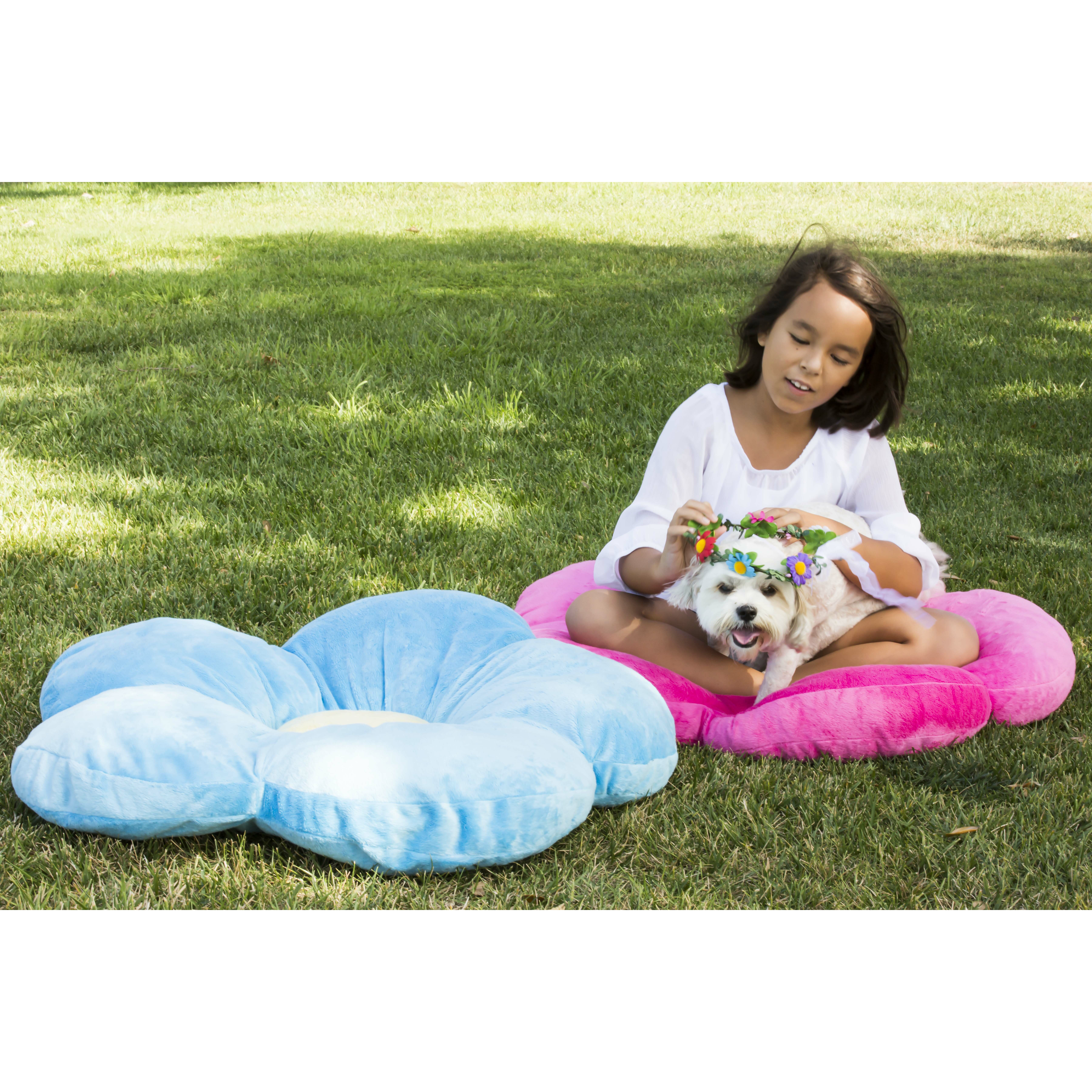 Plush Floor Pillows : Heart to Heart Daisy Flower Plush Floor Pillow & Reviews Wayfair