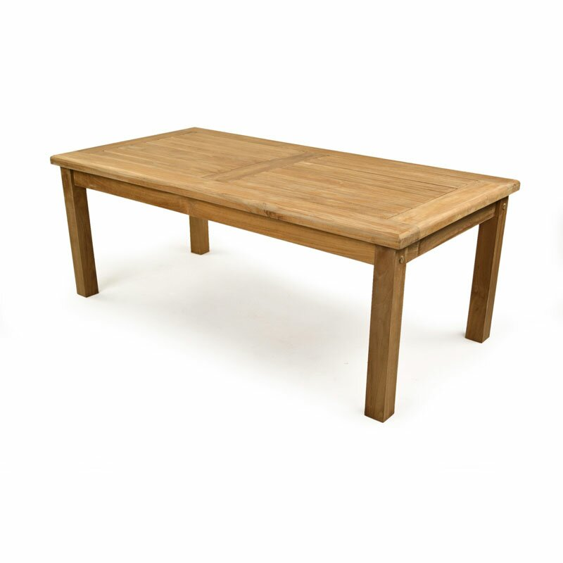 BrackenStyle Rectangular Teak Coffee Table | Wayfair UK