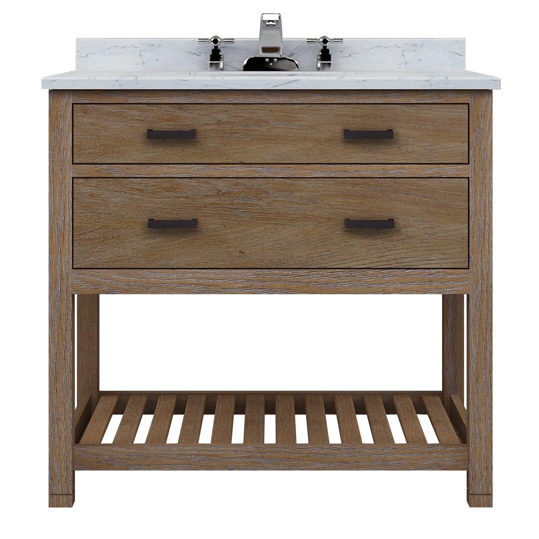 Sagehill toby 36 vanity base wayfair for Sagehill designs bathroom vanity