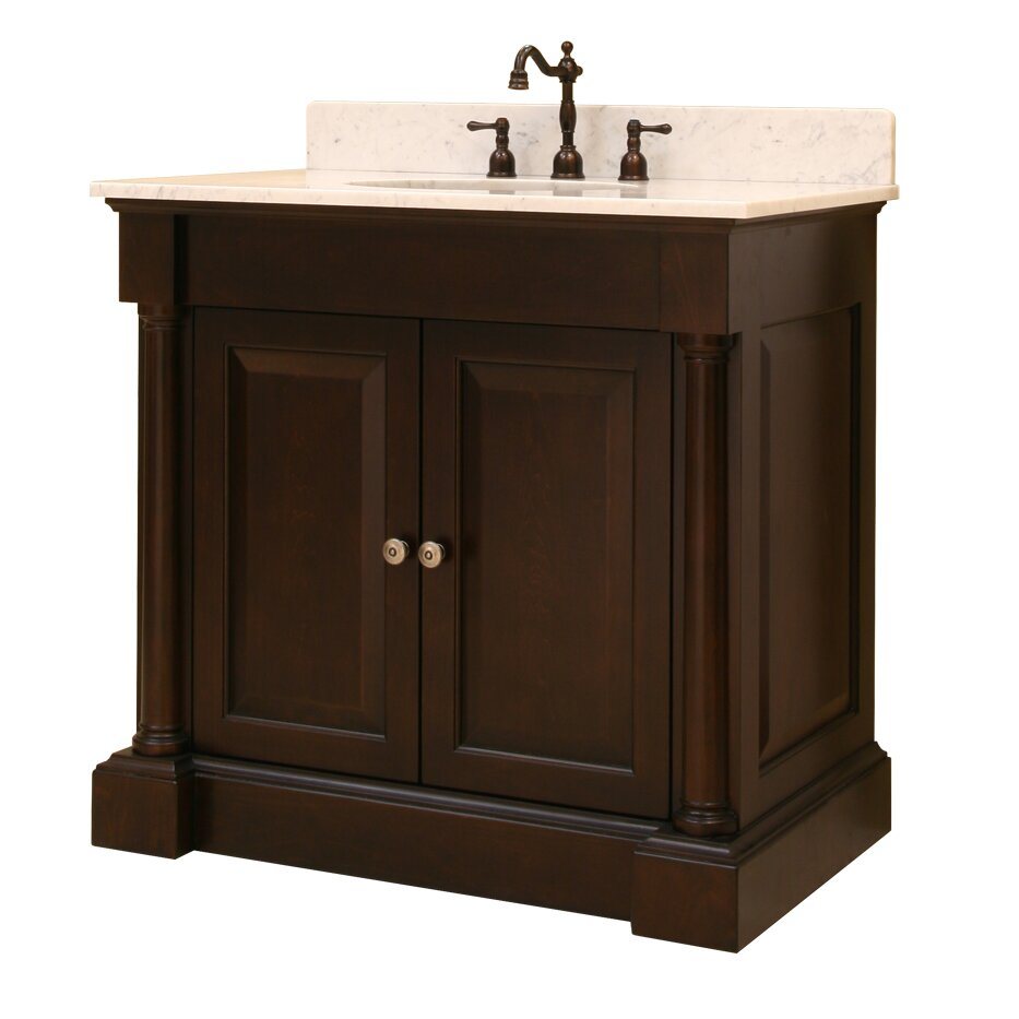 sagehill palladio bath 36 bathroom vanity base wayfair