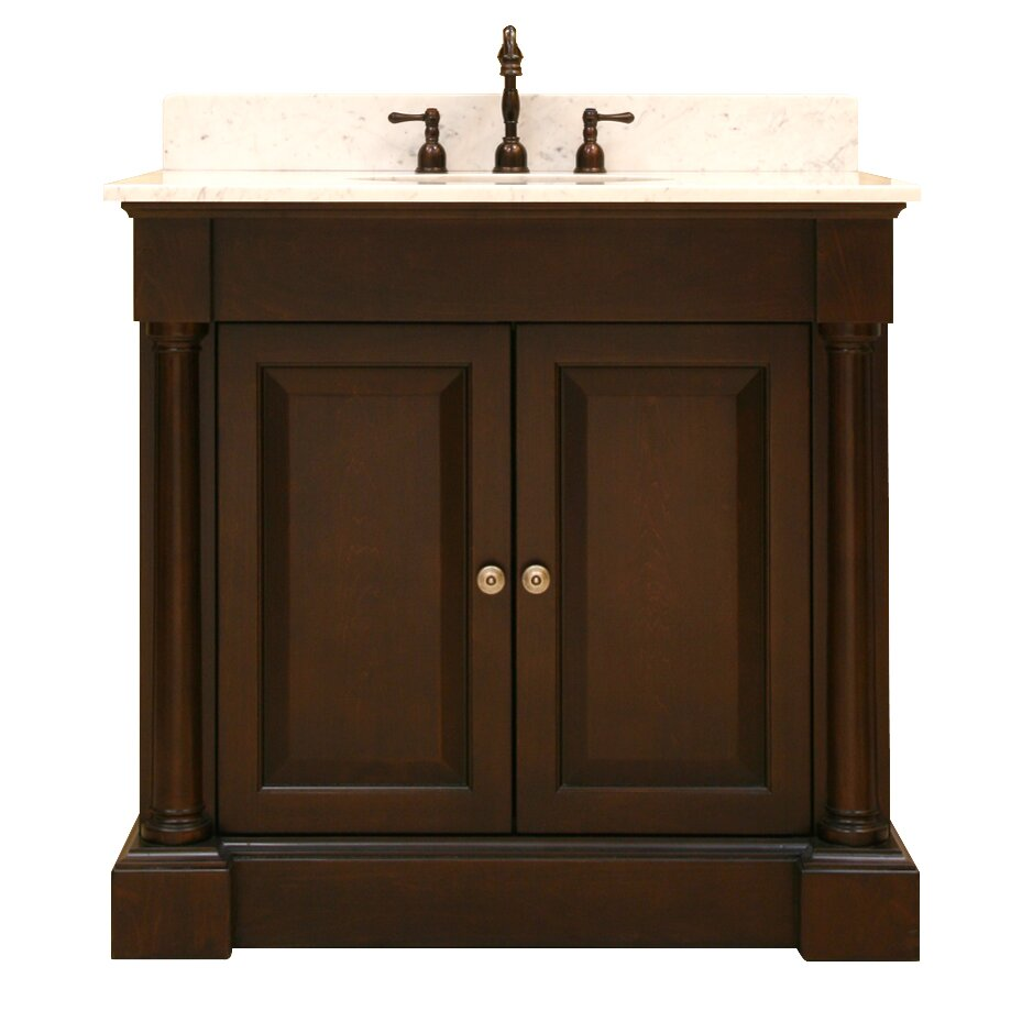 Sagehill palladio bath 36 bathroom vanity base wayfair for Sagehill designs bathroom vanity