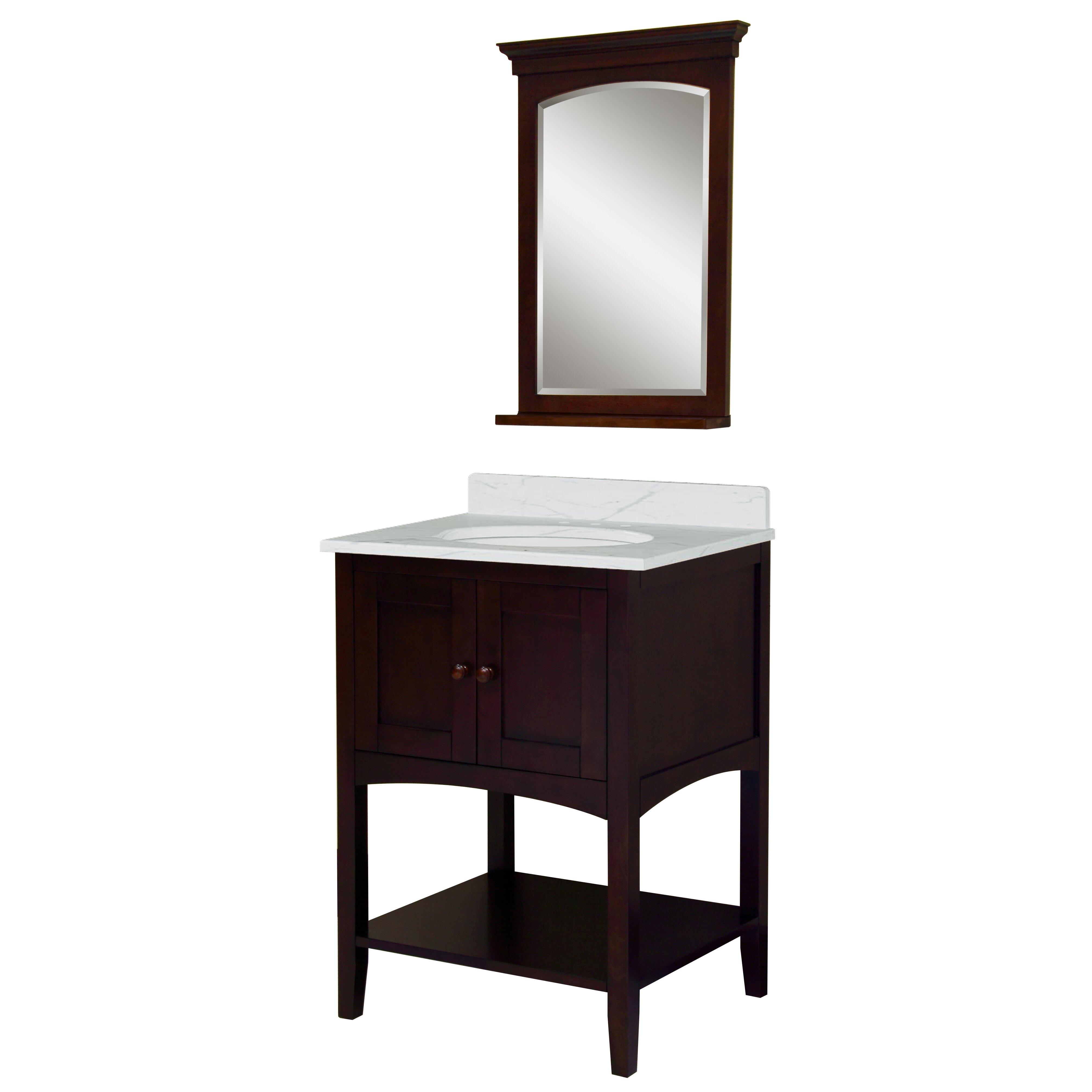 "Sagehill Allure 24"" Bathroom Vanity Base | Wayfair"
