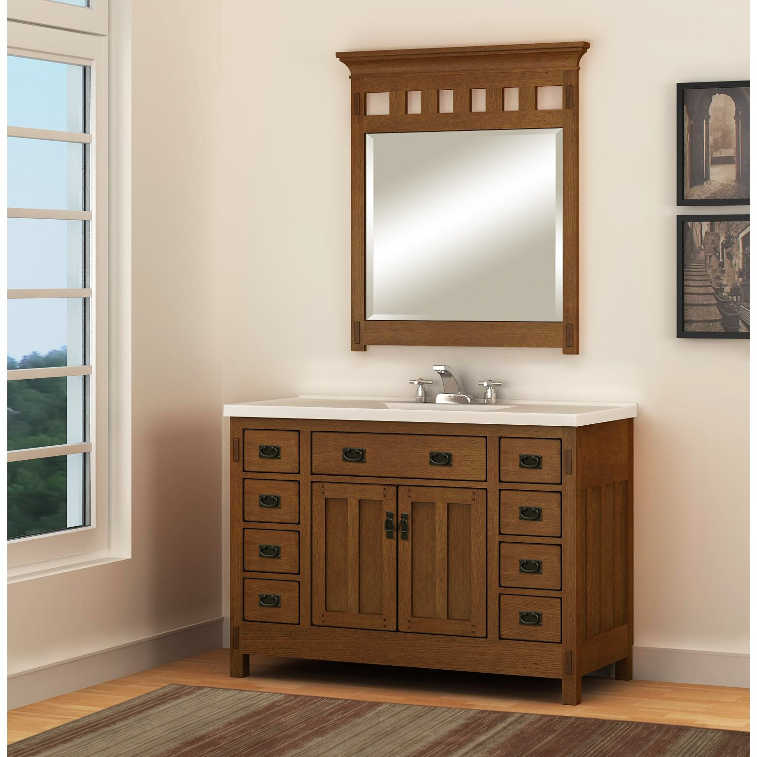 Sagehill premier 49 single bathroom vanity top reviews wayfair Premiere bathroom design reviews