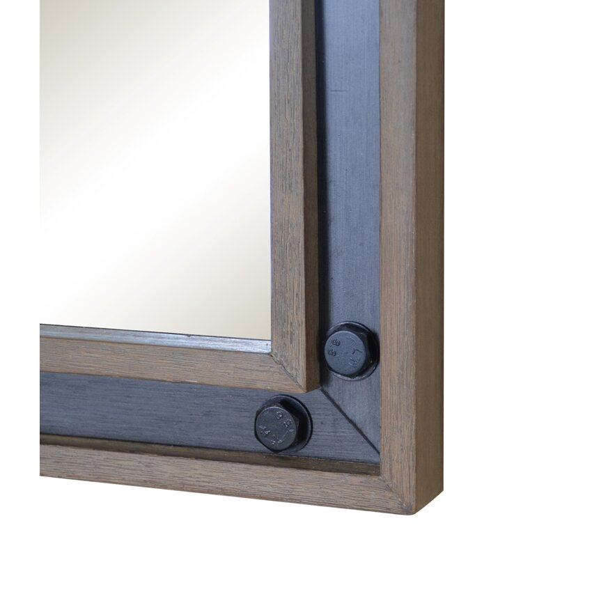 Sagehill Urban Metallo Framed Mirror   Wayfair