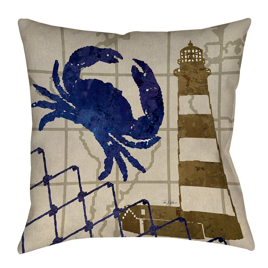 Indoor Outdoor Decorative Pillows : Manual Woodworkers & Weavers Lighthouse Indoor/Outdoor Throw Pillow & Reviews Wayfair
