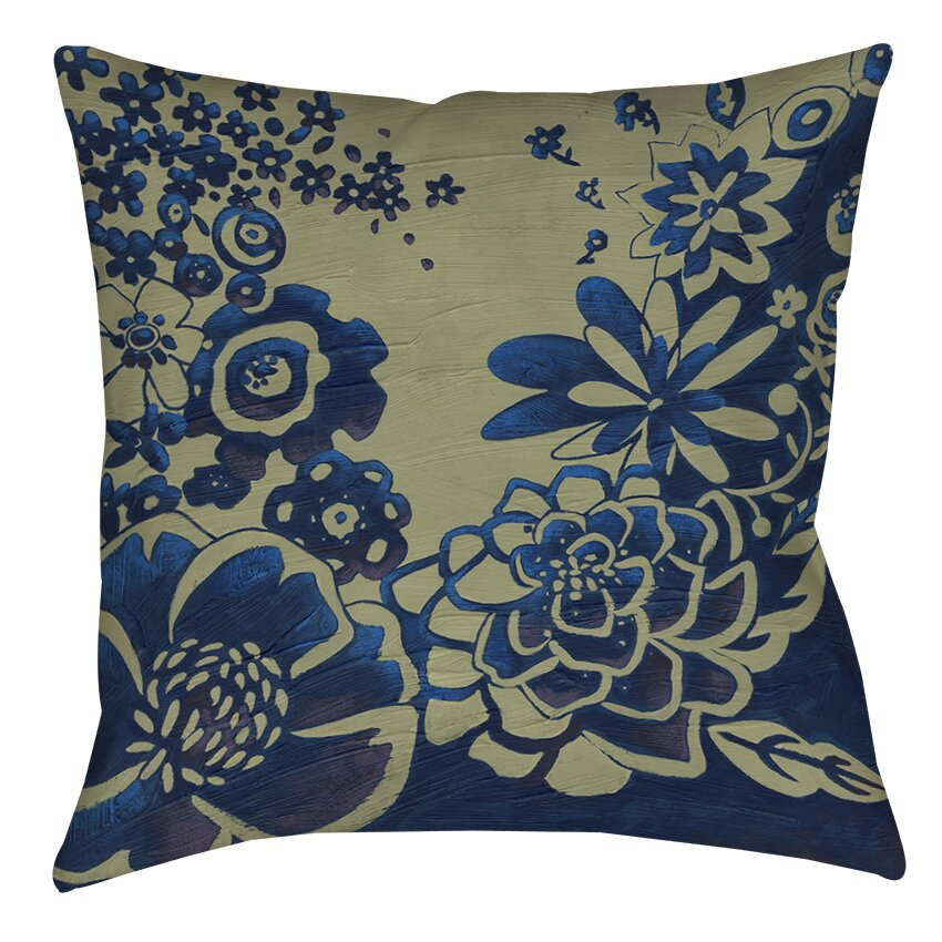Manual Woodworkers & Weavers Kyoto Garden 3 Printed Throw Pillow Wayfair.ca