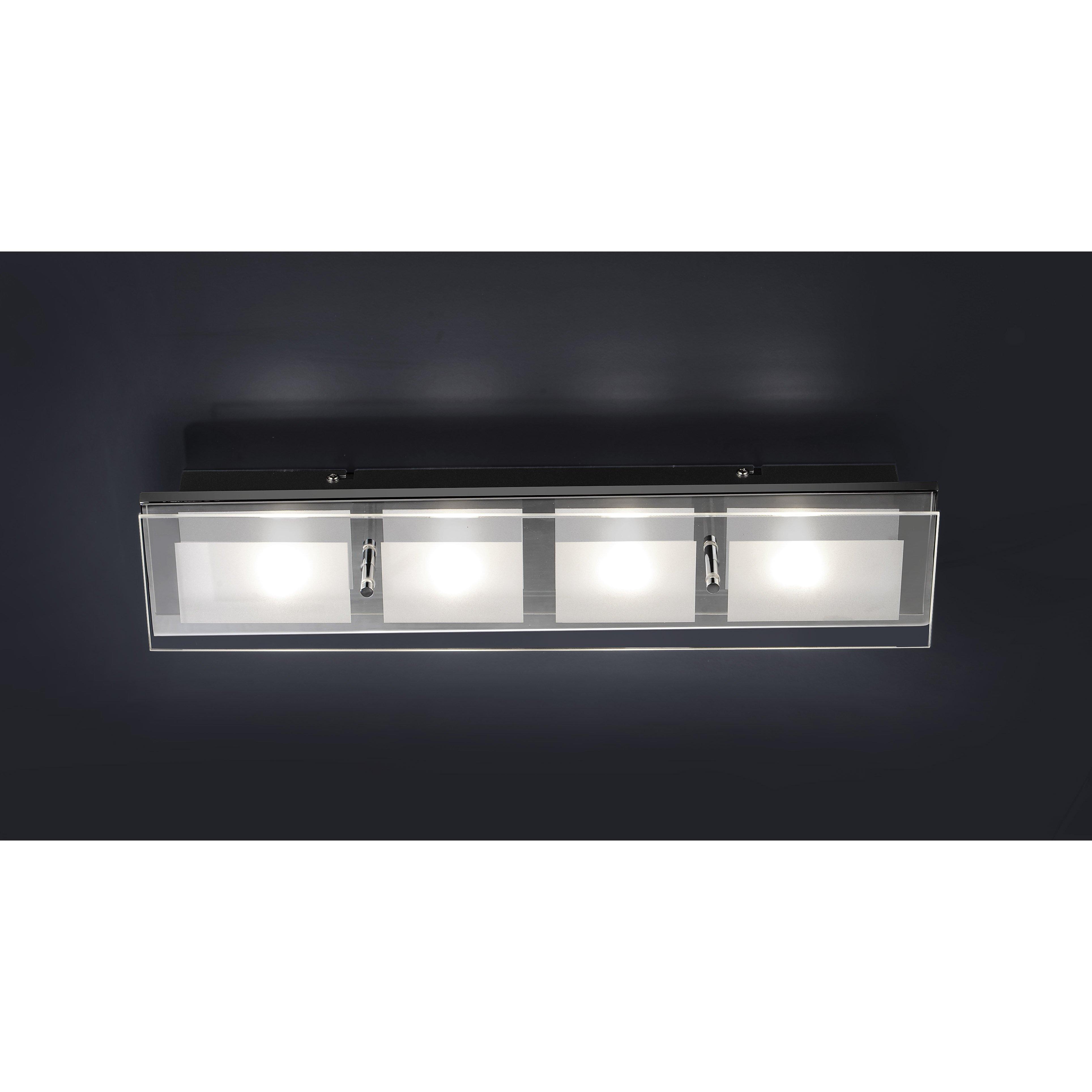 Paul Neuhaus Chiron 4 Light Flush Ceiling Light Amp Reviews