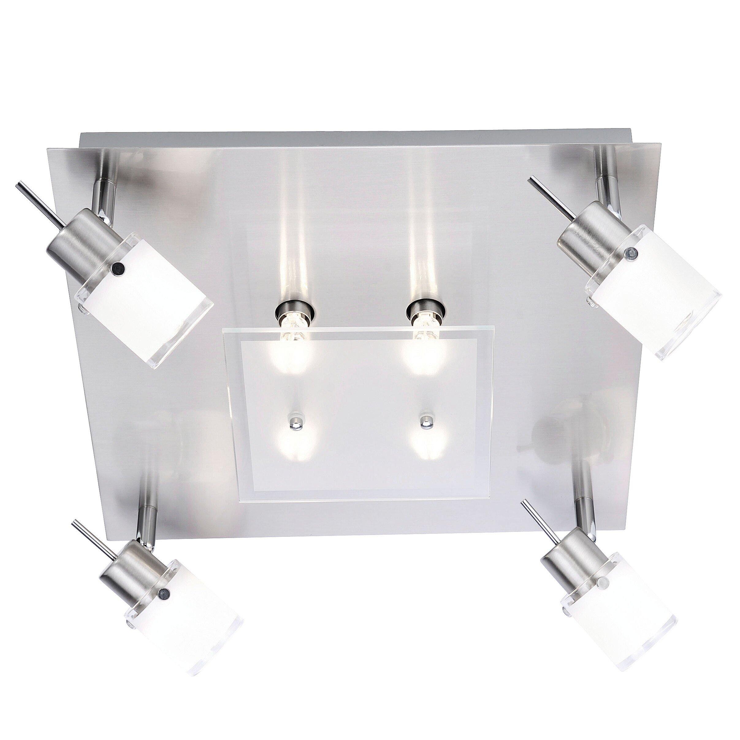 paul neuhaus centura 8 light spotlight ceiling light wayfair uk. Black Bedroom Furniture Sets. Home Design Ideas