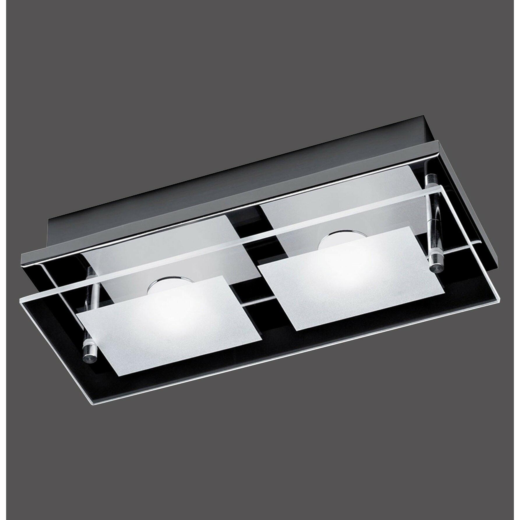 paul neuhaus deckenleuchte 2 flammig chiron von manufacturer. Black Bedroom Furniture Sets. Home Design Ideas