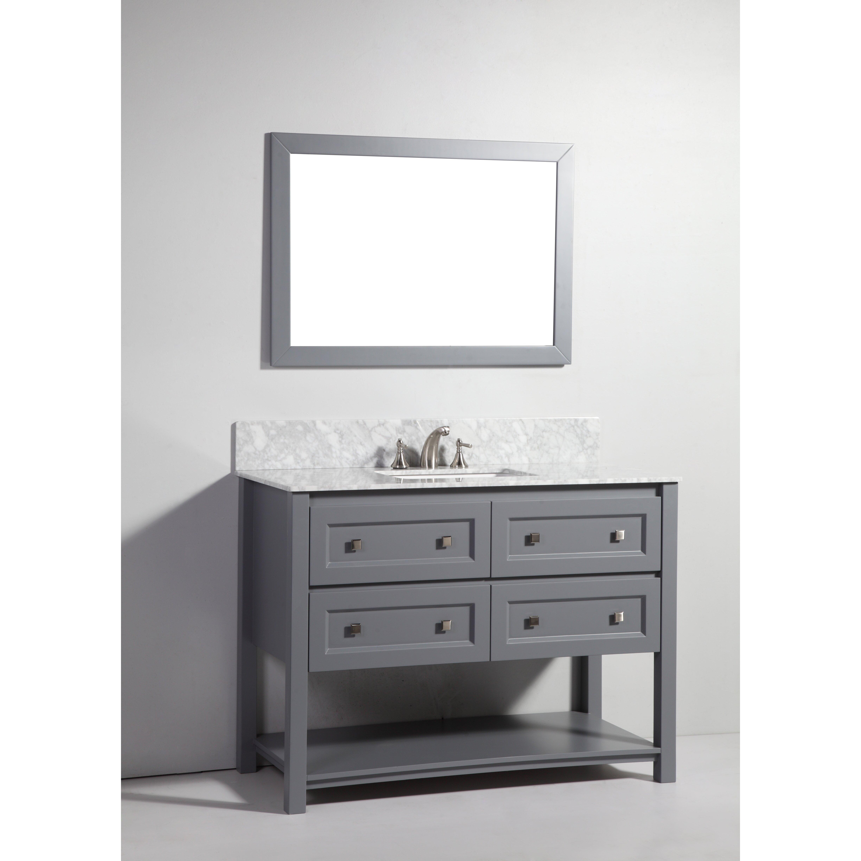 Legion Bathroom Vanity 48 Single Bathroom Vanity Set With Mirror By Legion Furniture