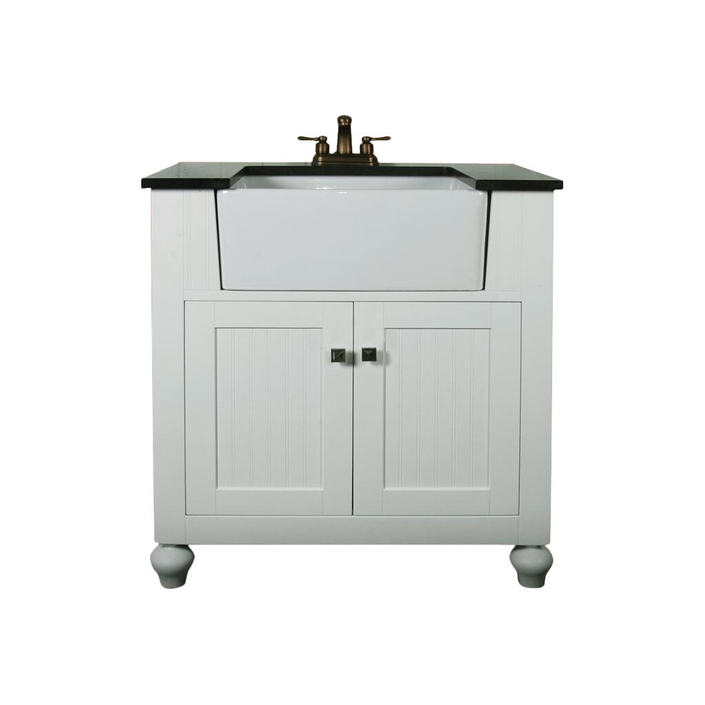 "Legion Furniture 30"" Single Bathroom Vanity Set & Reviews"