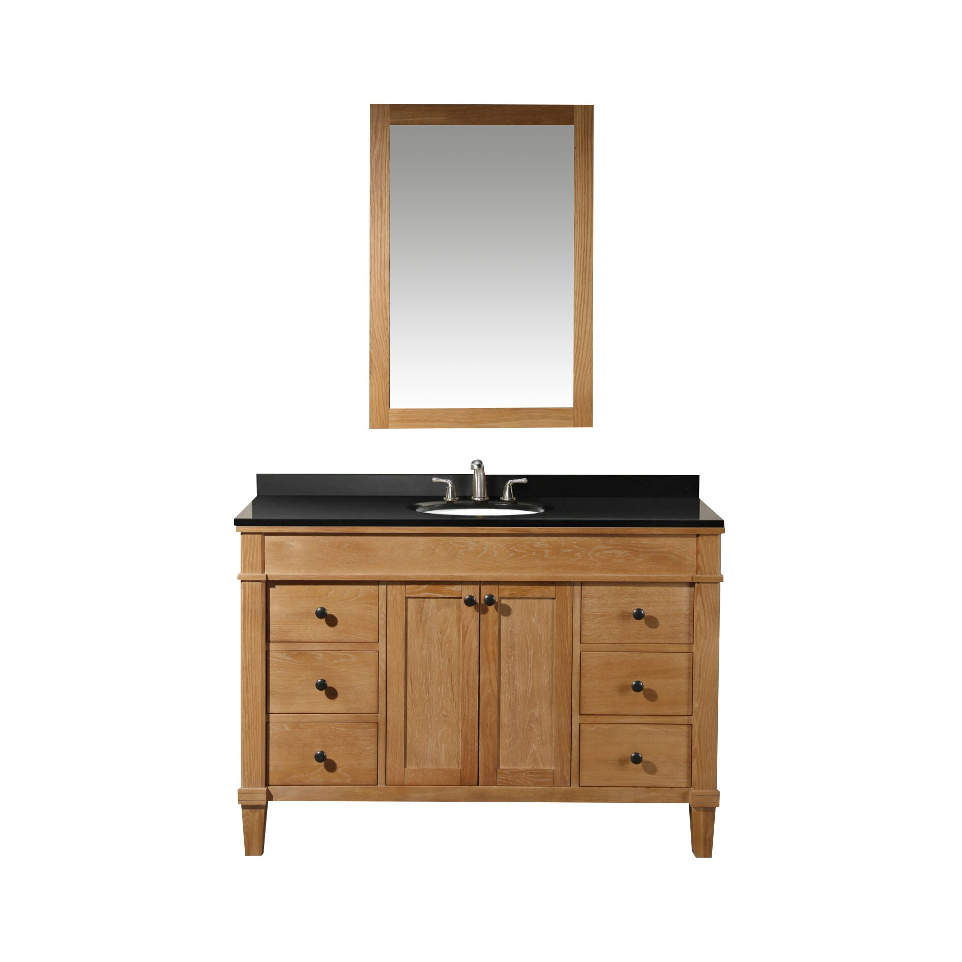 Legion furniture 49 single bathroom vanity set reviews - Wayfair furniture bathroom vanities ...