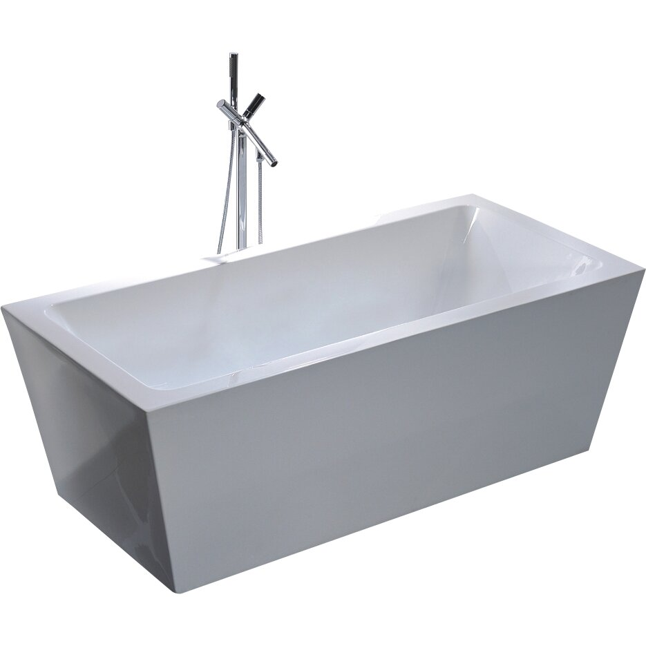 Soaking Bathtub Reviews 28 Images Wyndham Collection Mary 68 5 Quot X 30 5 Quot Soaking