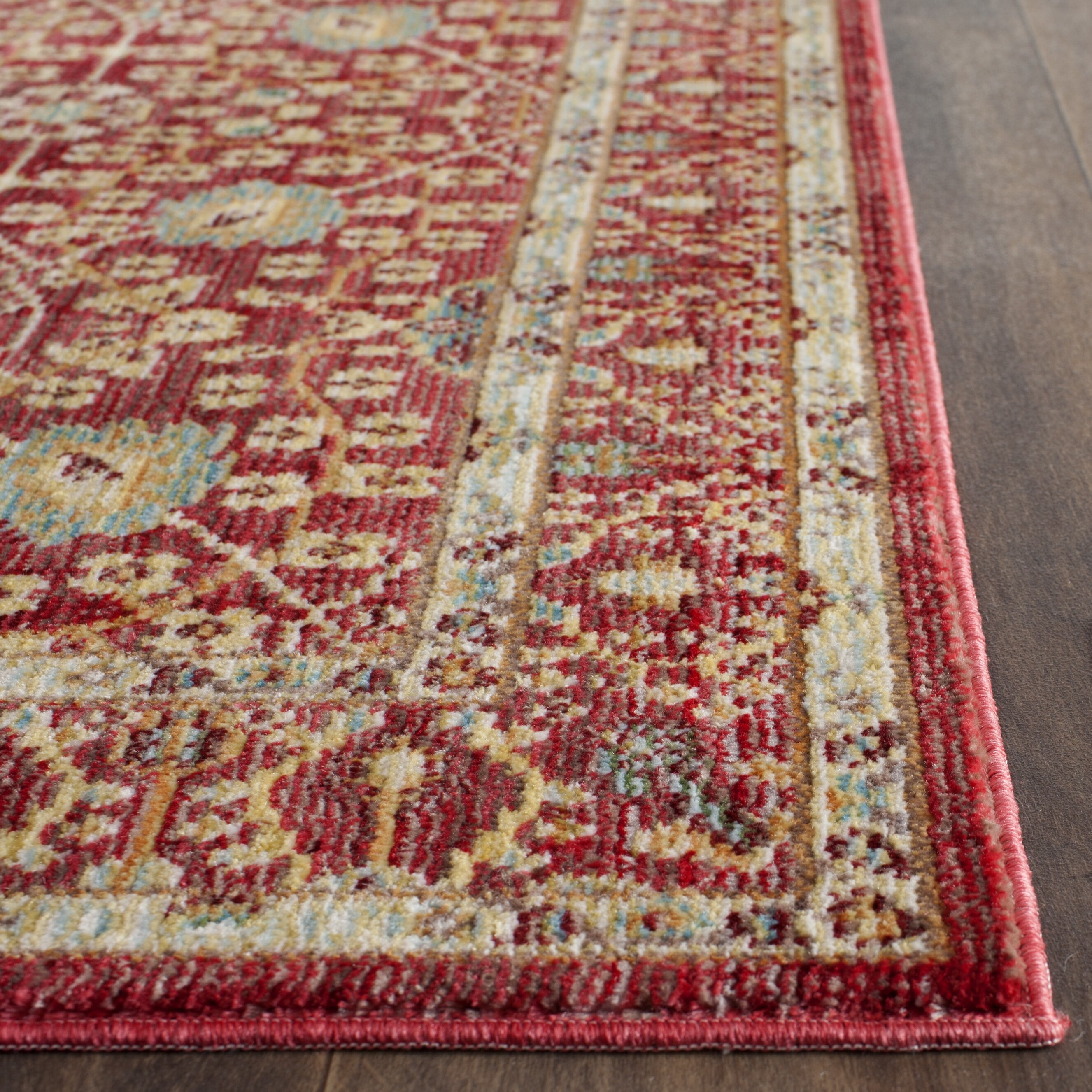 safavieh red area rug reviews wayfair uk