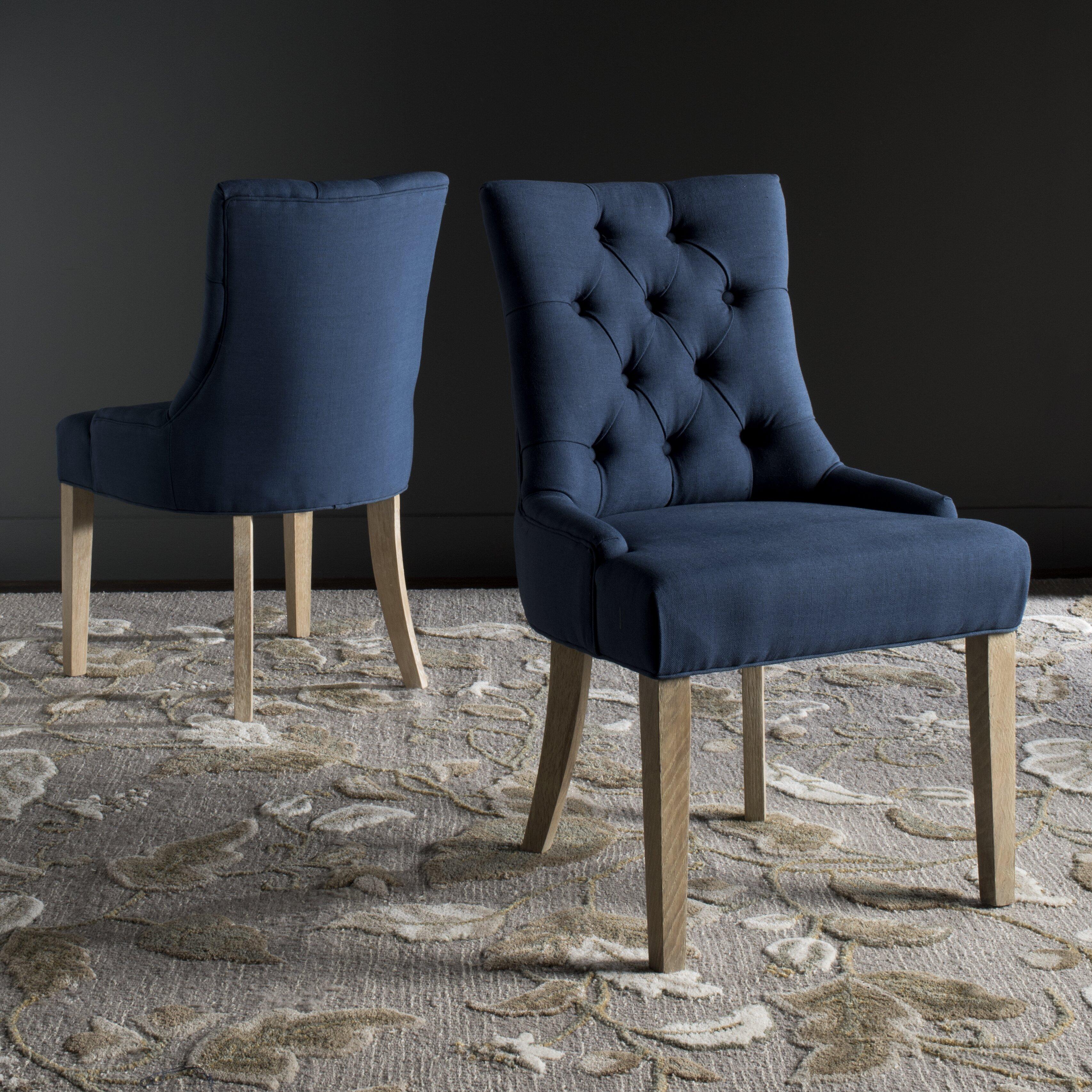 safavieh shaw upholstered dining chair reviews wayfair uk. Black Bedroom Furniture Sets. Home Design Ideas