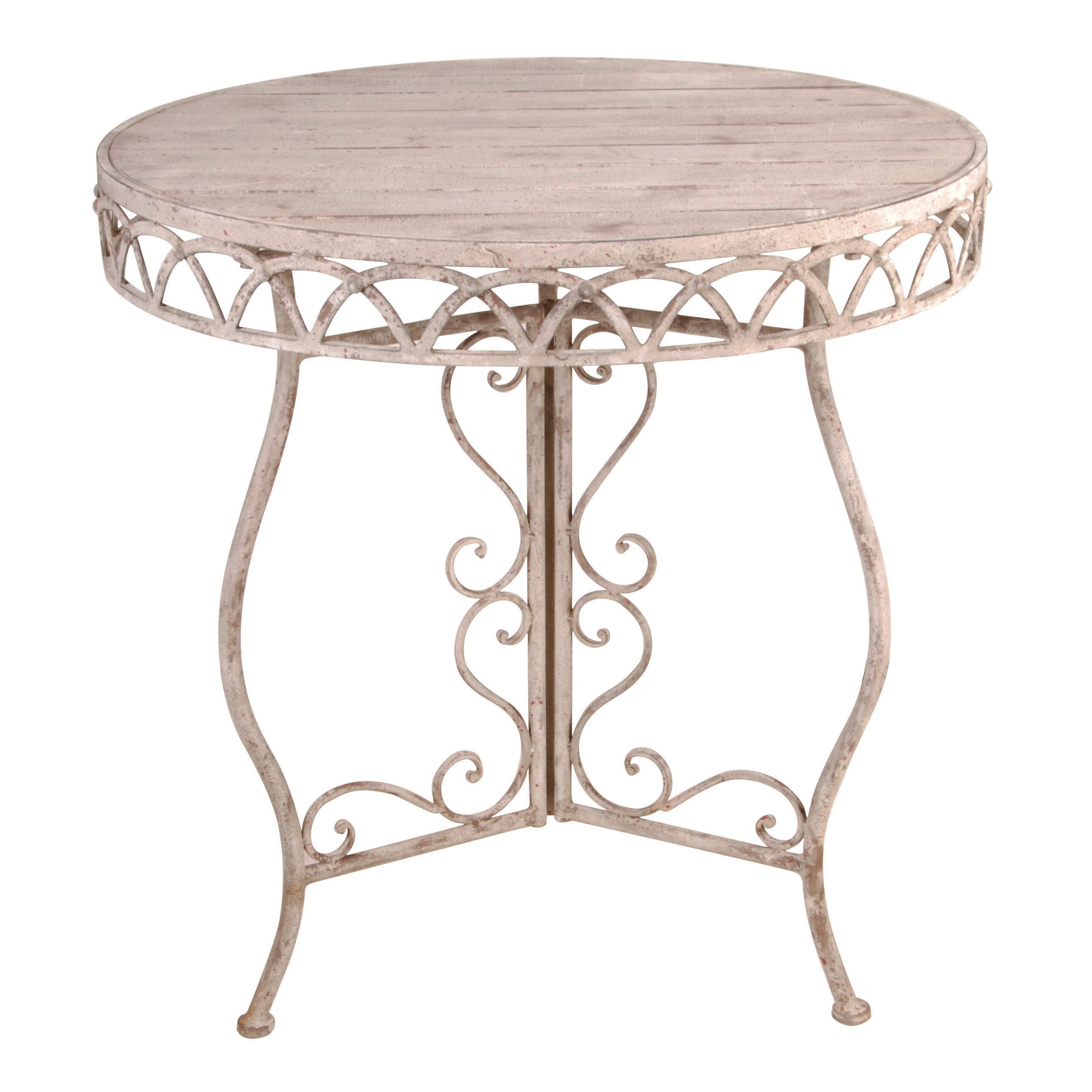 Esschertdesign aged metal bistro table reviews wayfair for Table 52 reviews