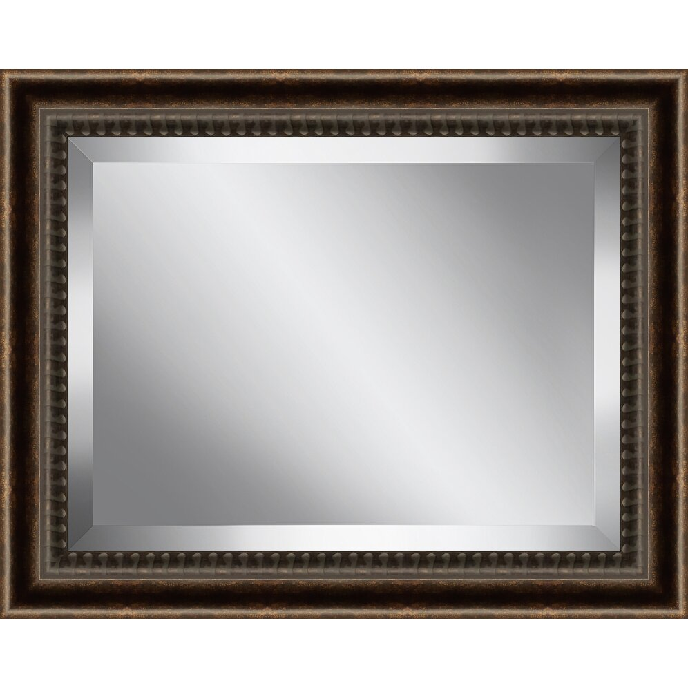 Wall Art Glass Framed : Ashton wall d?cor llc framed beveled plate glass mirror