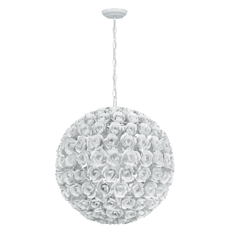 Crystorama Cypress 5 Light Globe Pendant Reviews Wayfair