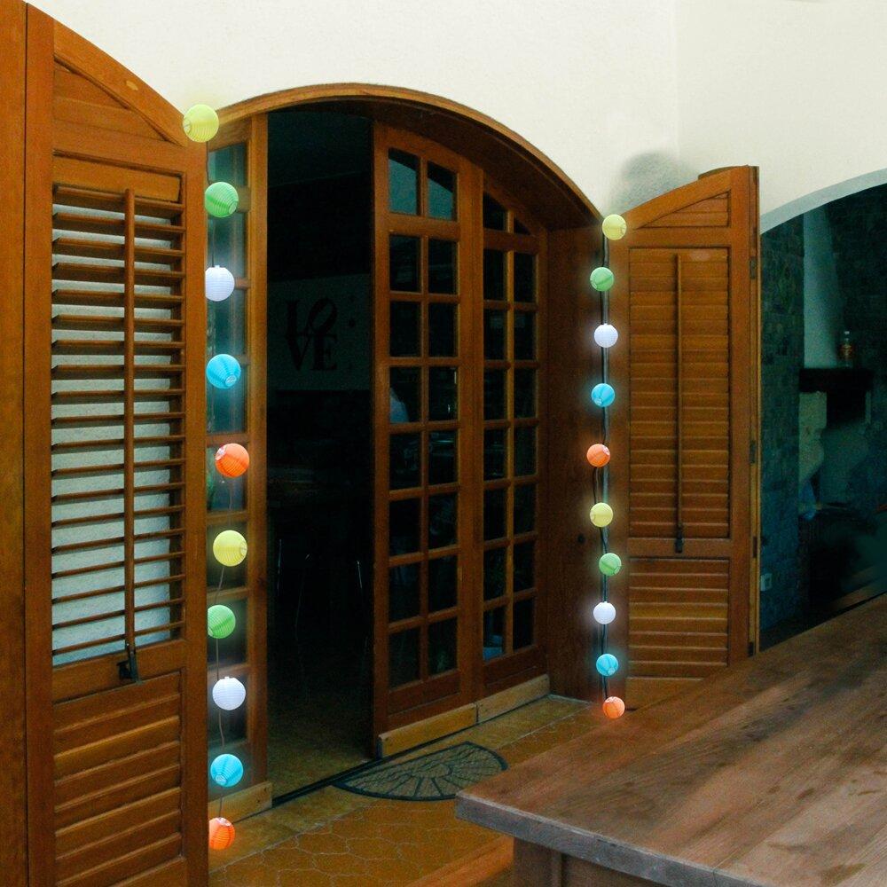 Square Lantern String Lights : LumaBase 10-Light Lantern String Lights Wayfair