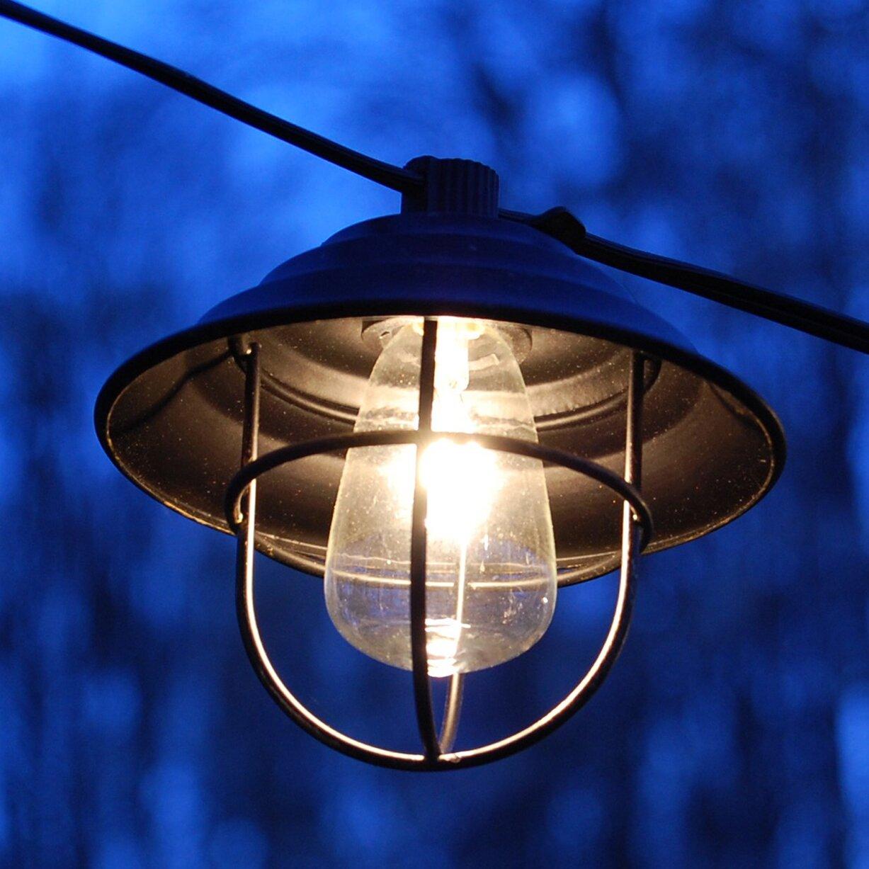 Square Lantern String Lights : LumaBase 10-Light 10 ft. Lantern String Lights Wayfair