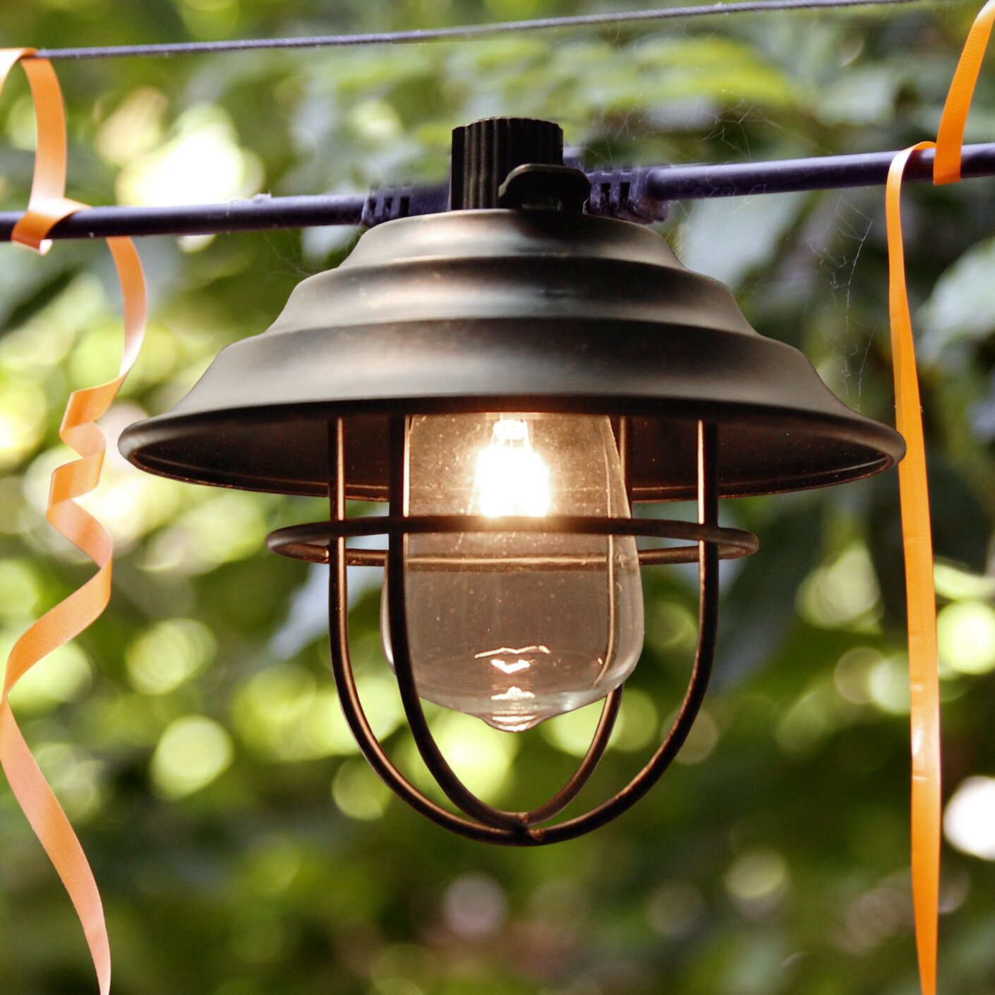 LumaBase 10-Light 10 ft. Lantern String Lights Wayfair