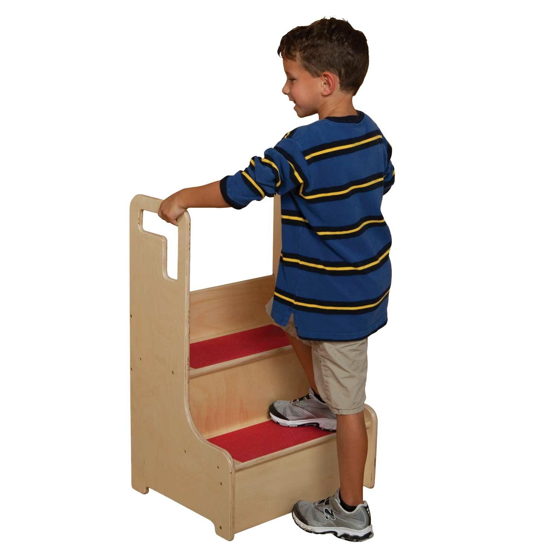 Wood Designs Healthy Kids 2 Step Manufactured Wood Step Up