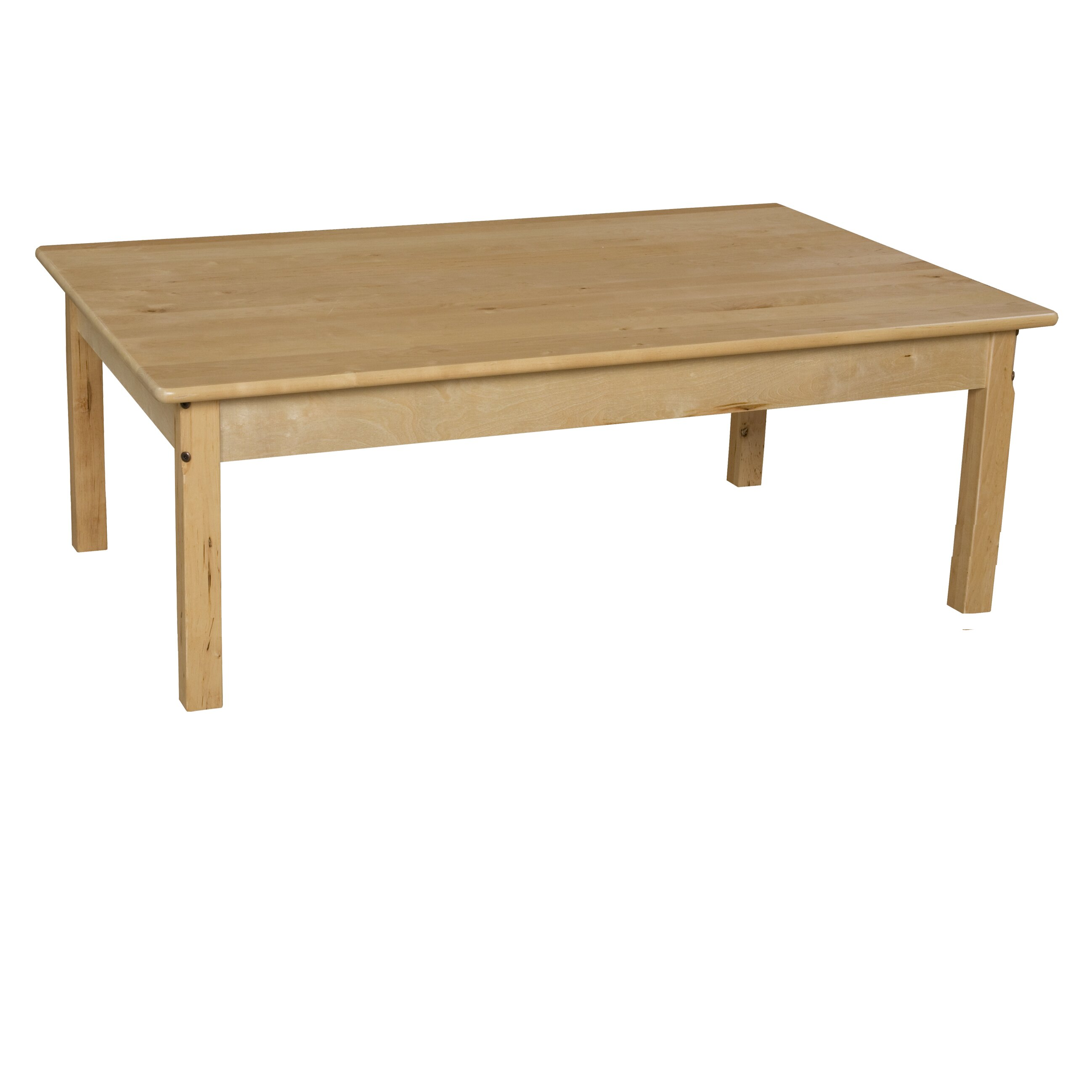 wood designs 30 x 48 rectangular activity table